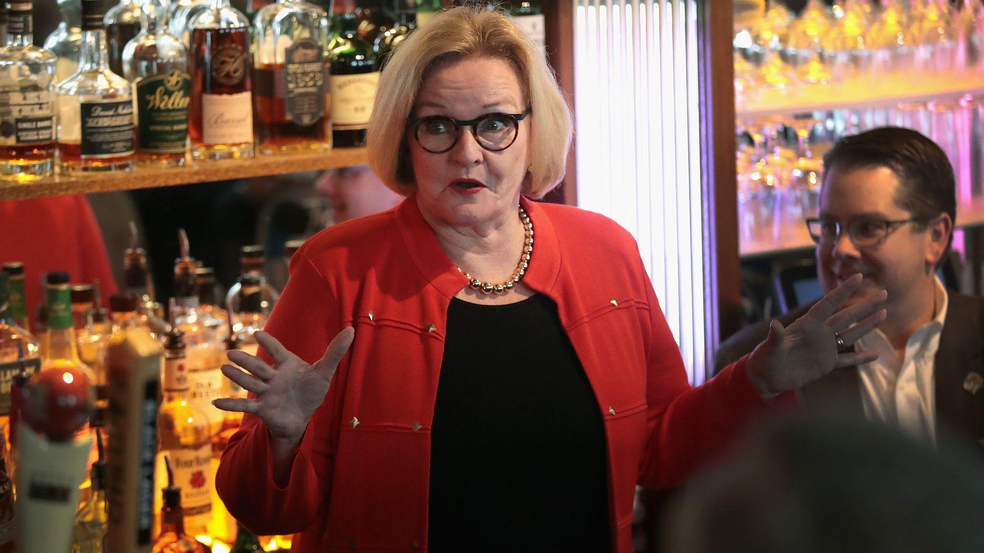 Claire McCaskill senator for missouri lost her election.