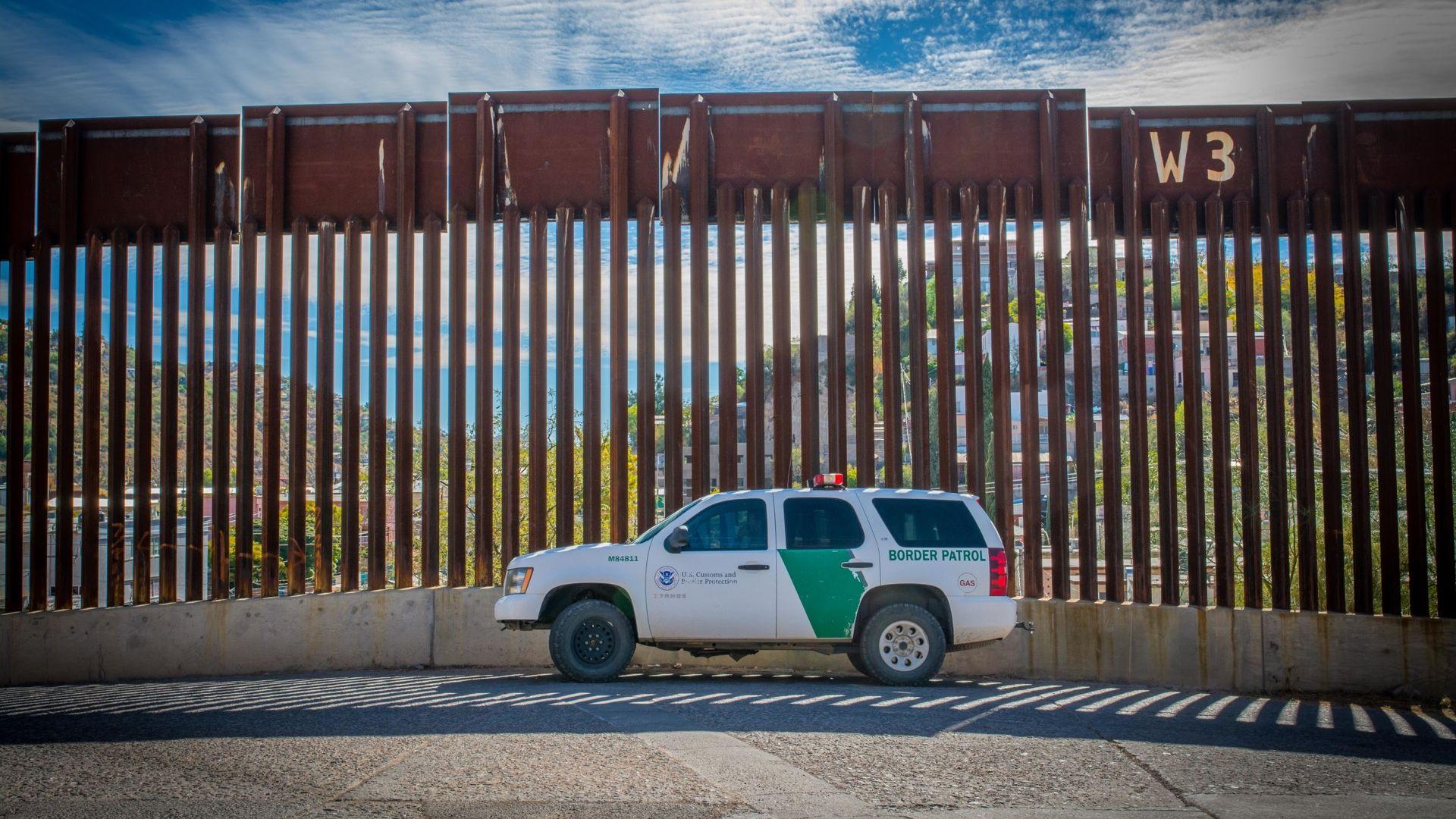 The border wall in Nogales, Arizona