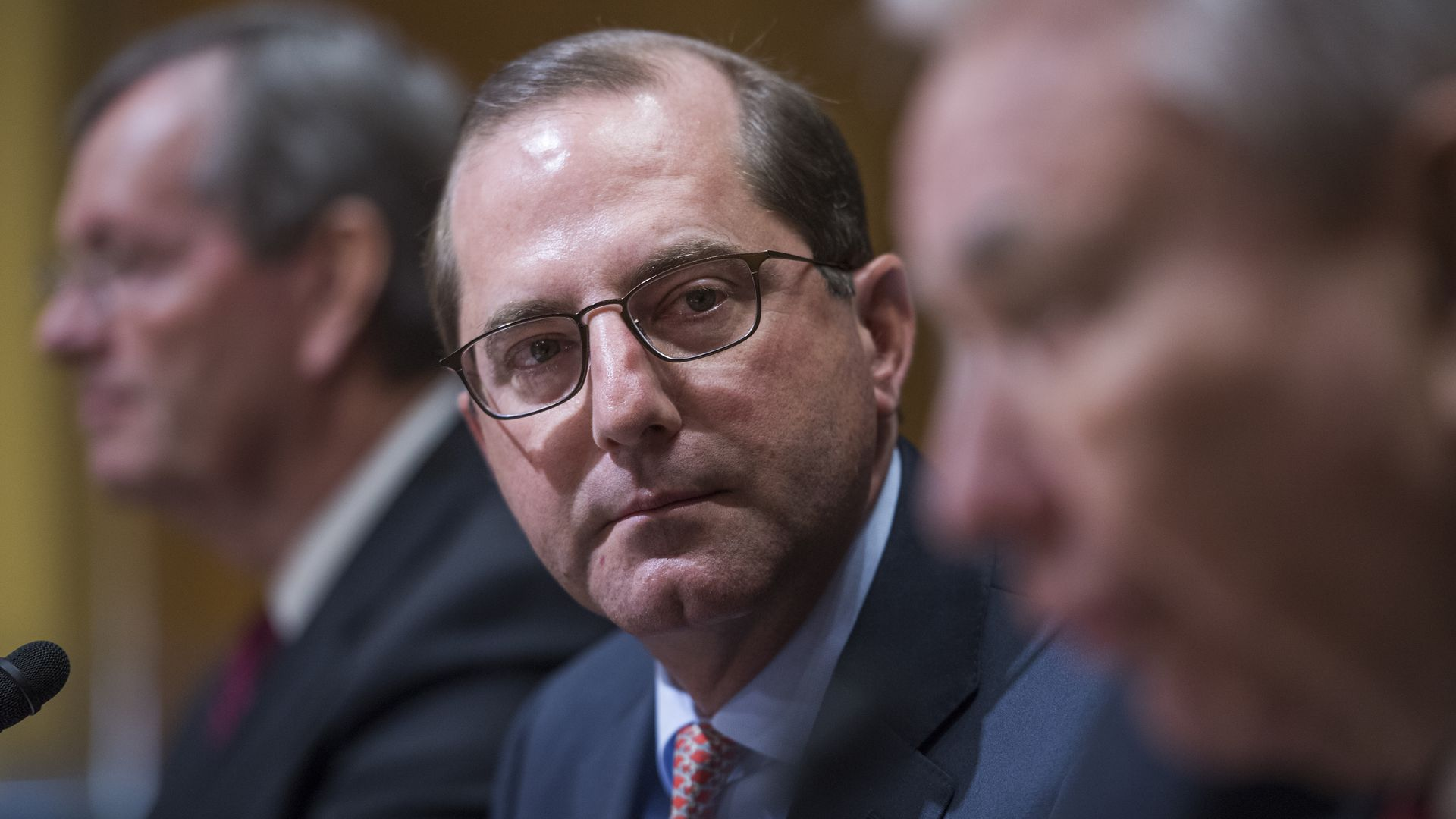 Alex Azar at confirmation hearing