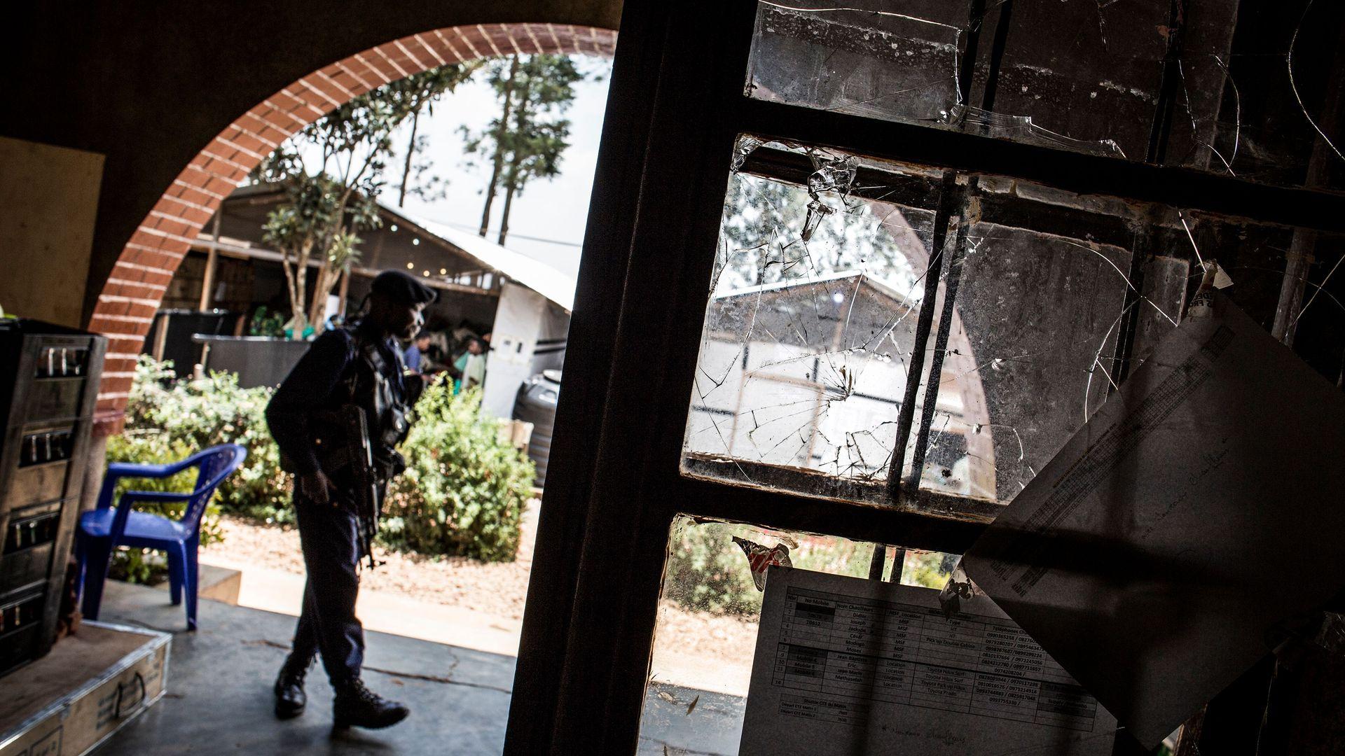 Ebola treatment center in Congo faces first militia attack as fever reaches 1,000 cases