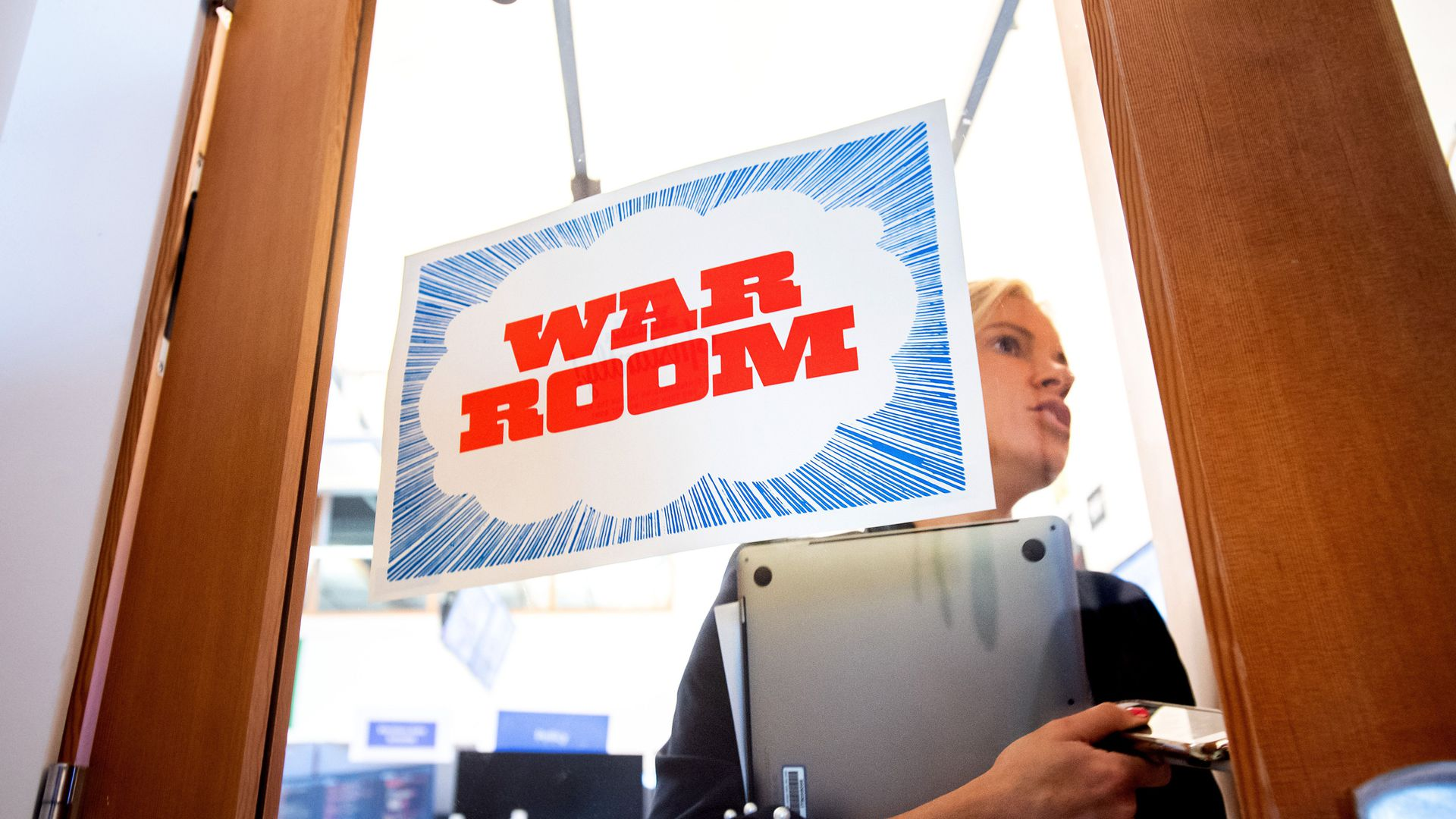 Facebook's war room