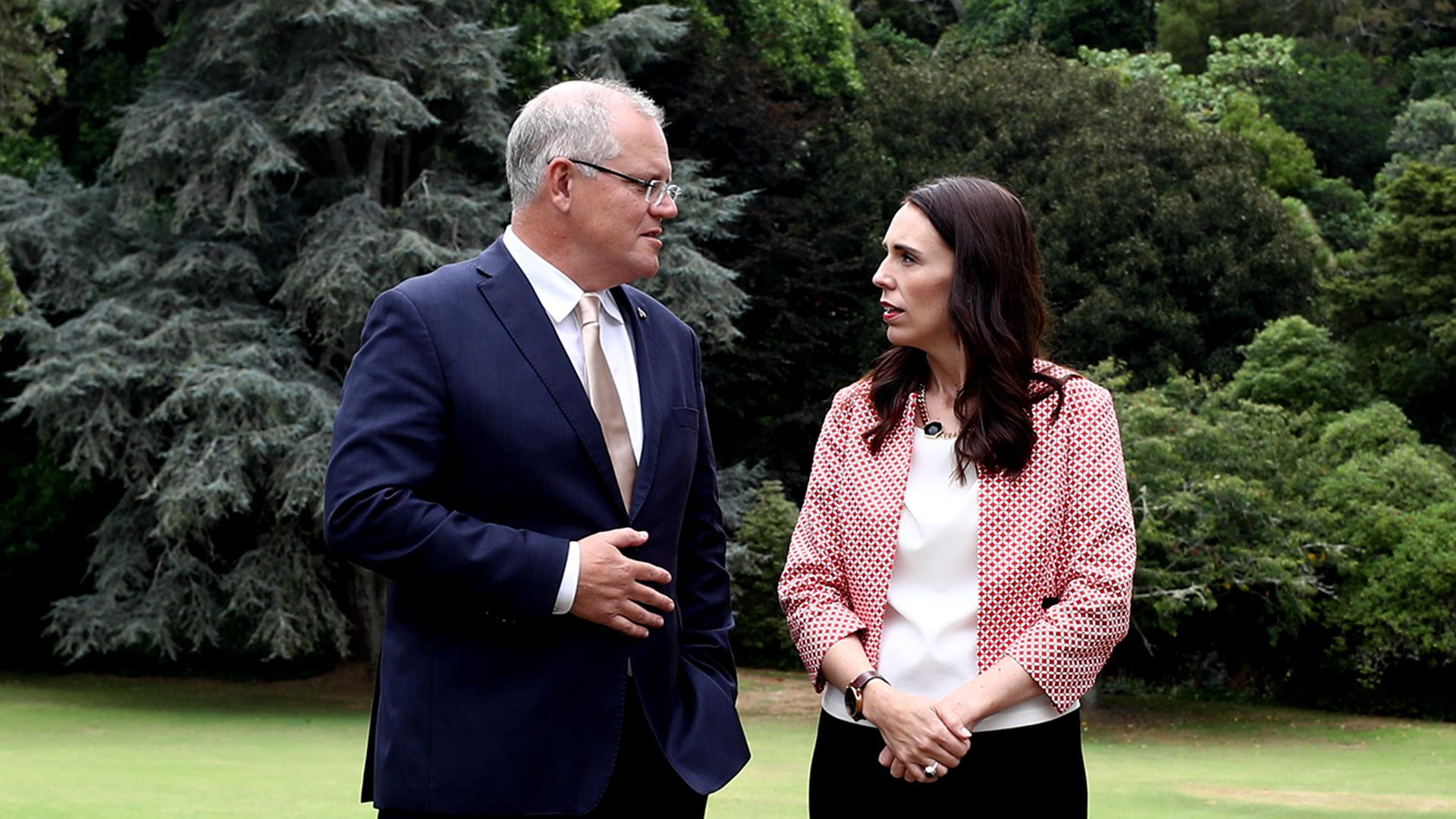 Australia's Prime Minister Scott Morrison and his New Zealand counterpart Jacinda Ardern both criticized the senator Sunday.