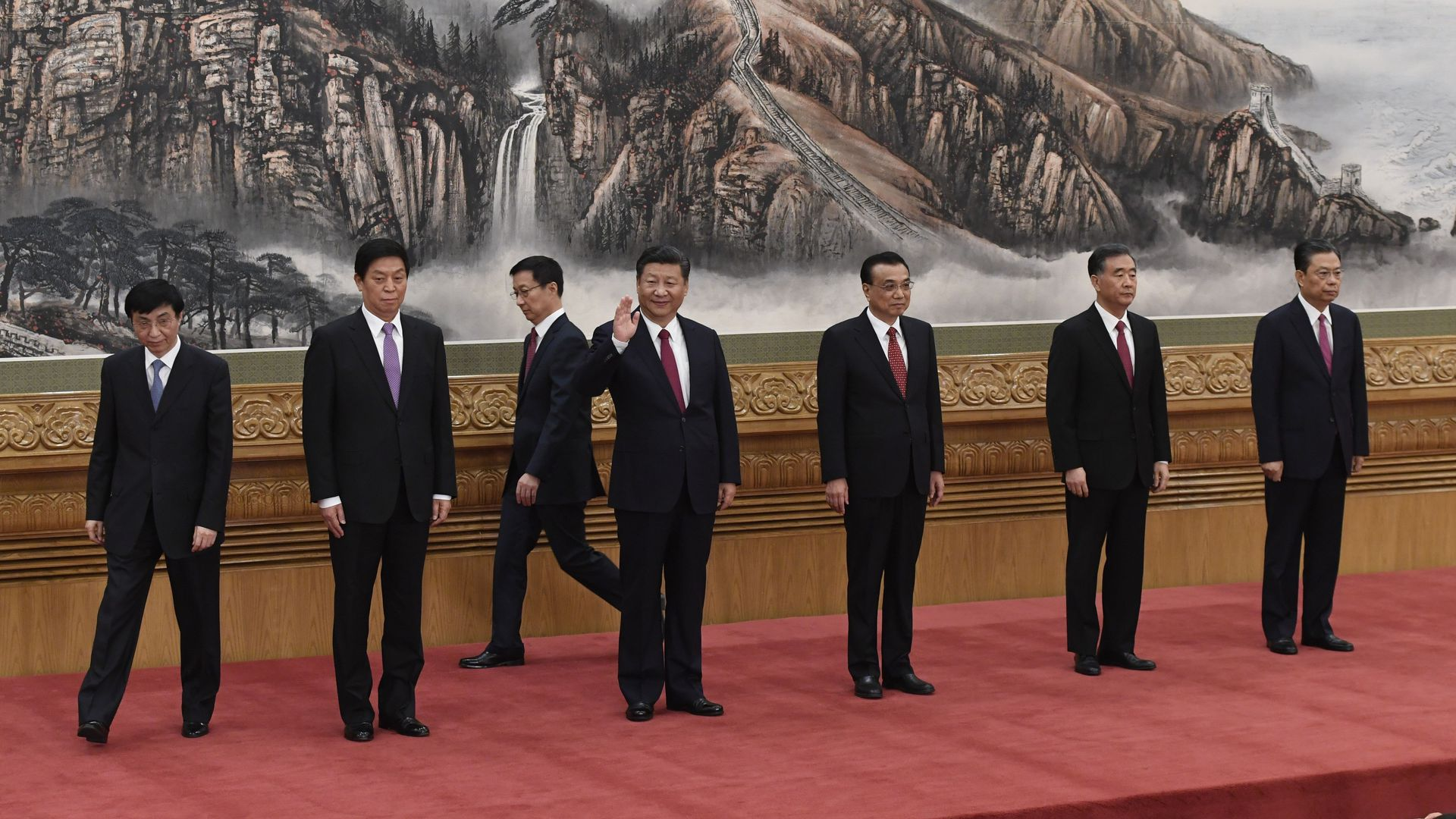 China's Politburo standing committee