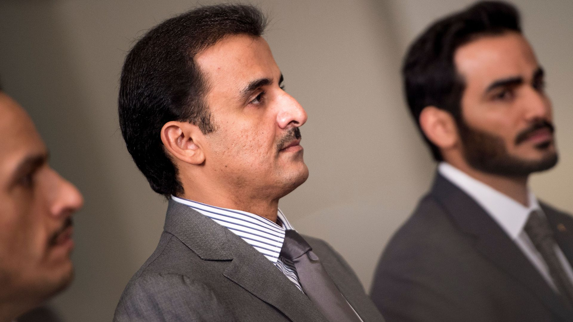 Qatar's Emir.
