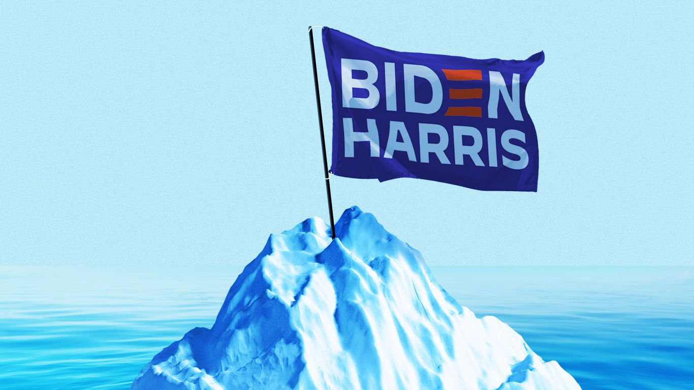 Biden ushers in historical turn on clean energy and climate change - Axios