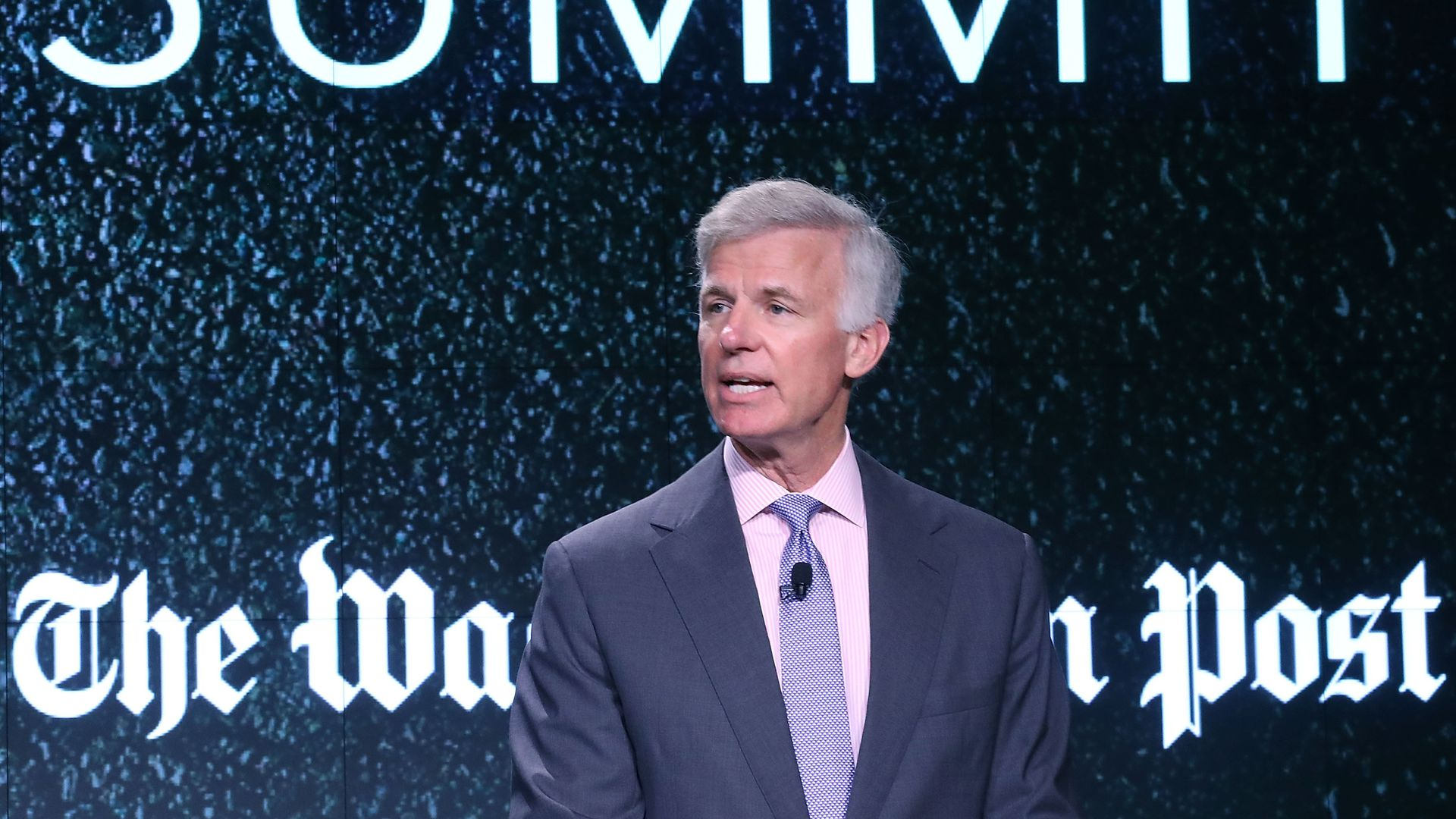 Washington Post publisher Fred Ryan
