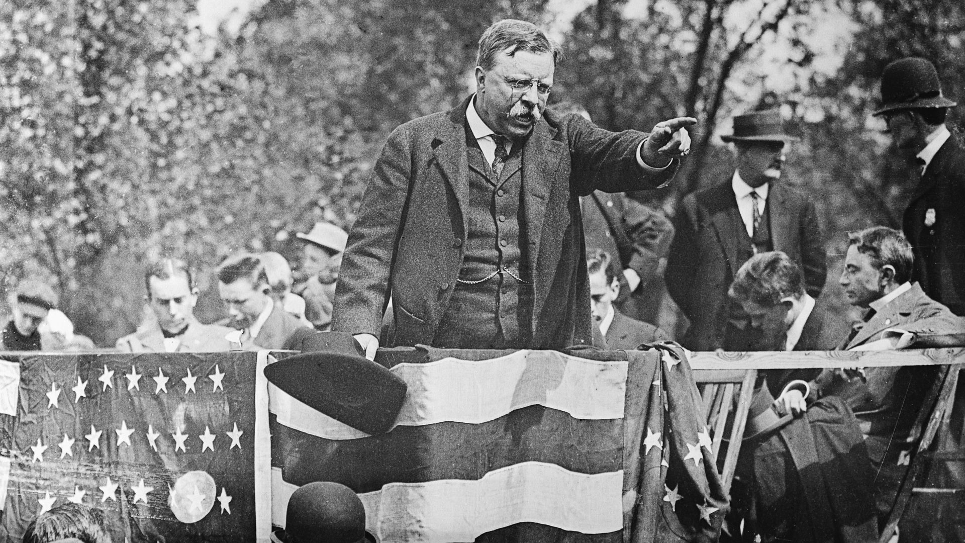 Roosevelt campaigning