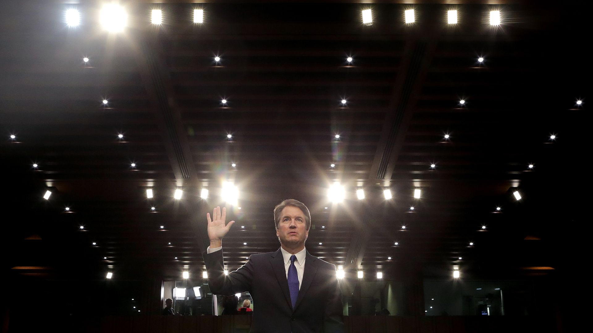 Brett Kavanaugh before the Senate Judiciary Committee