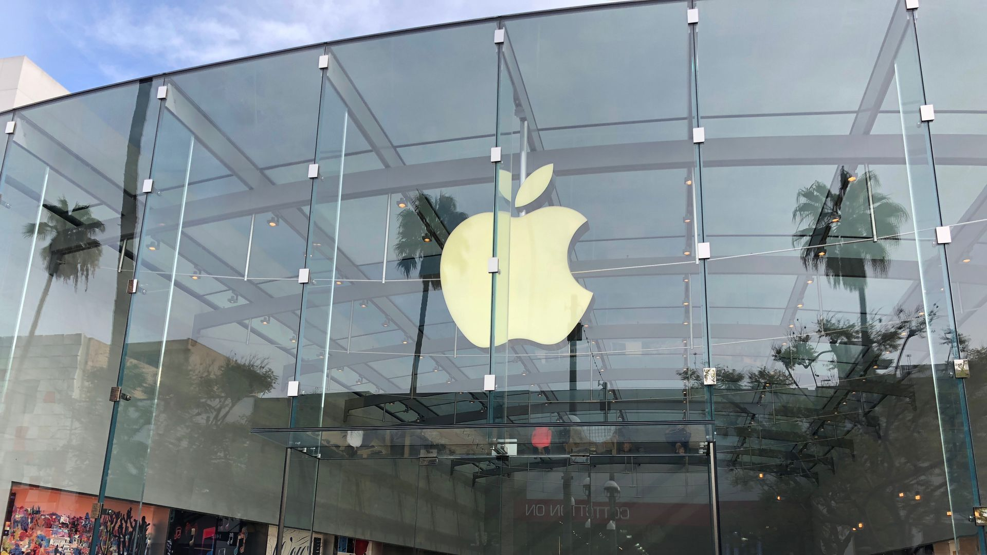 An Apple Store in Santa Monica, Calif.