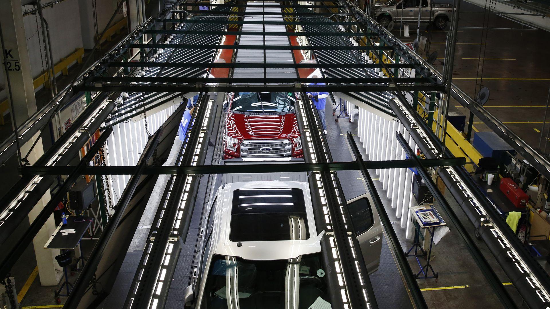Ford F-150 trucks
