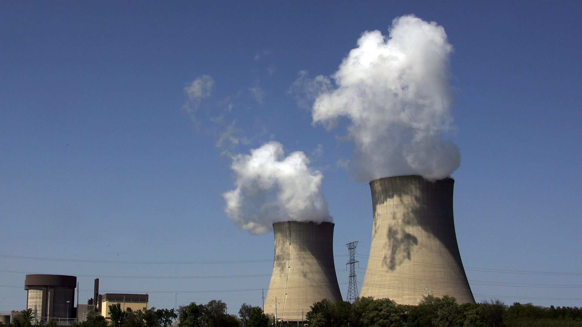 The Exelon Byron Nuclear Generating Station in Illinois.