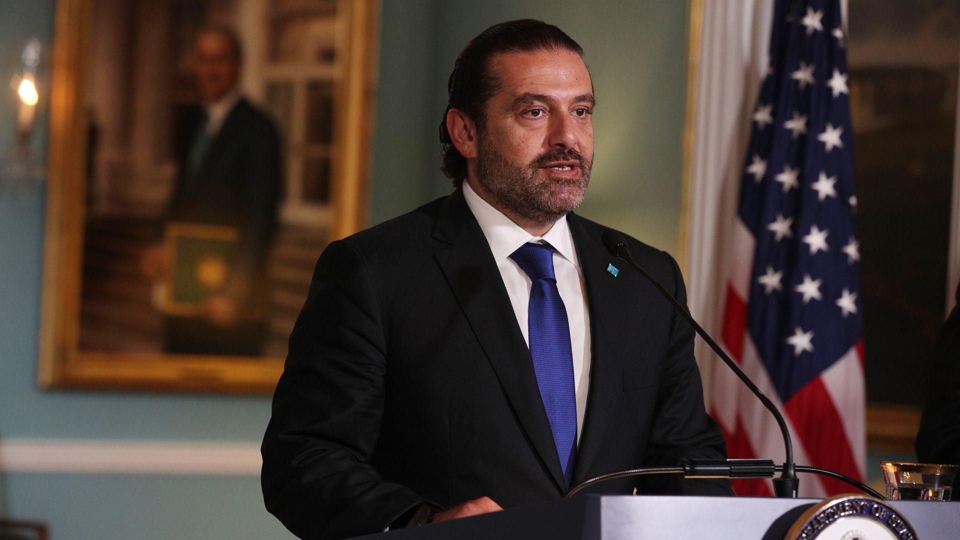 Iranian Prime Minister Saad Hariri