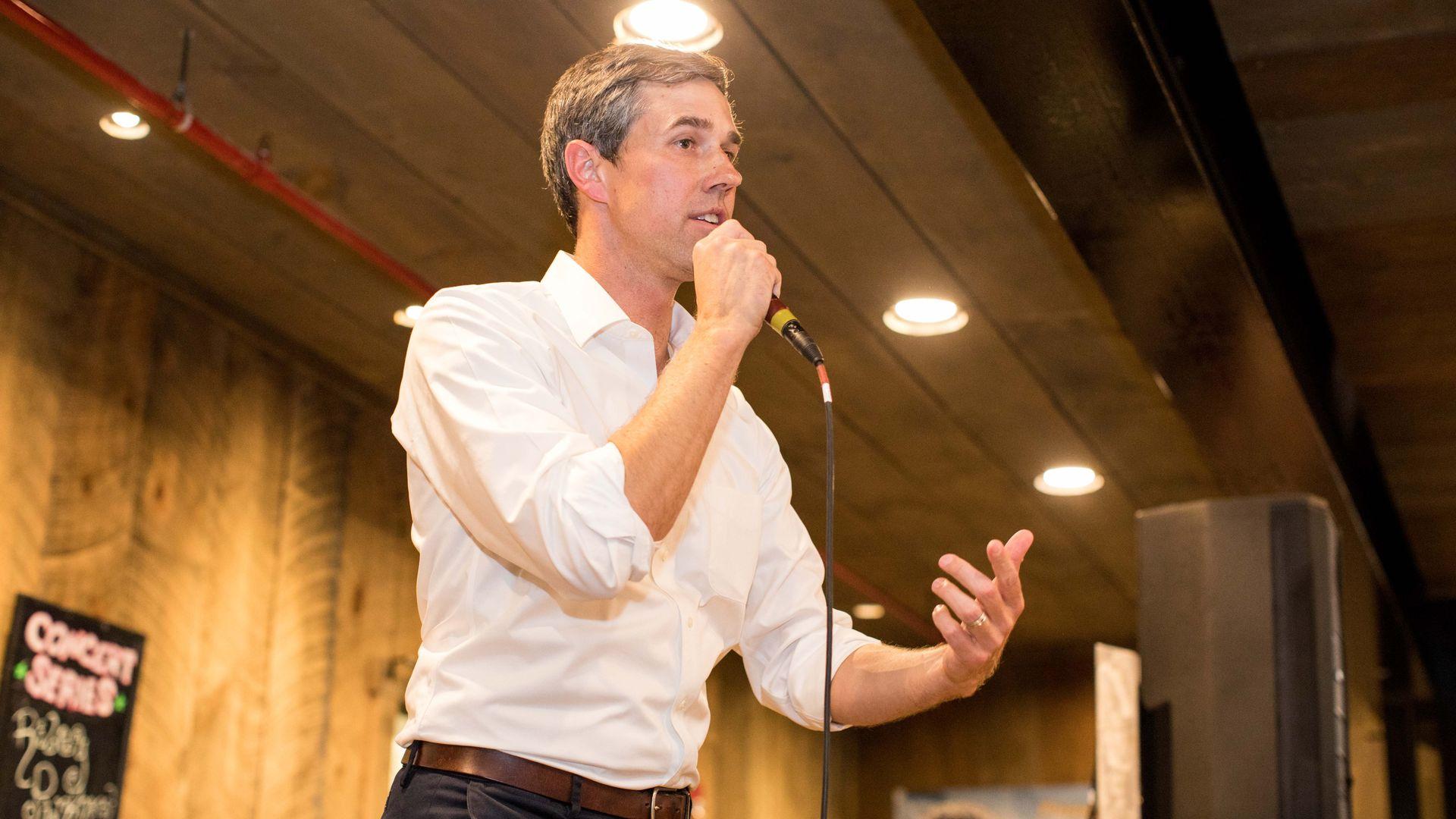 Democratic presidential candidate Beto O'Rourke.
