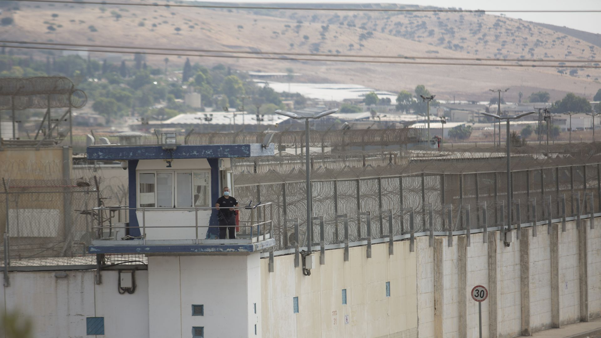 6 Palestinian prisoners escape from high-security Israeli prison - Axios