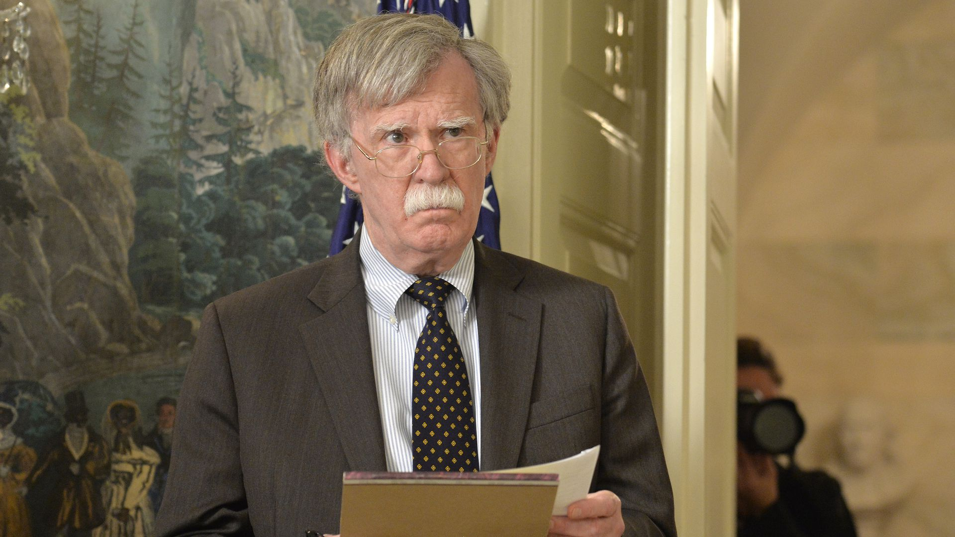 Trump lawyers set to wrap up arguments as Bolton controversy simmers