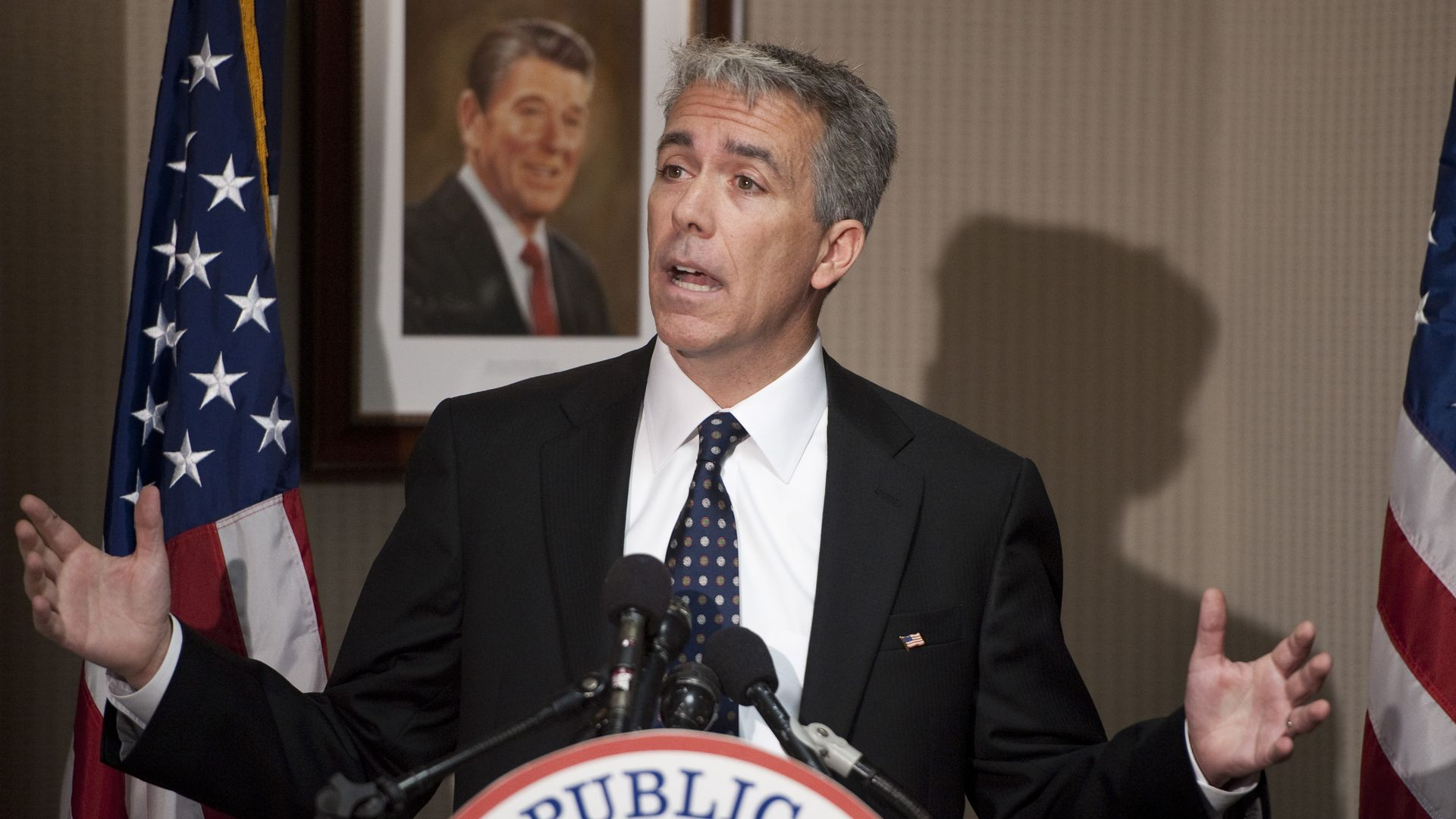 Joe Walsh, R-Ill., holds a news conference on his election to Congress at the Republican National Committee headquarters on Wednesday, Nov. 17, 2010