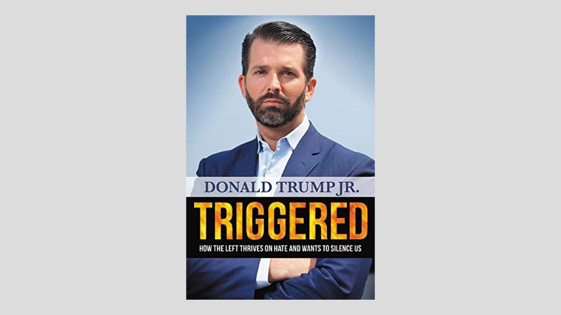 The cover of Don Jr.'s new book