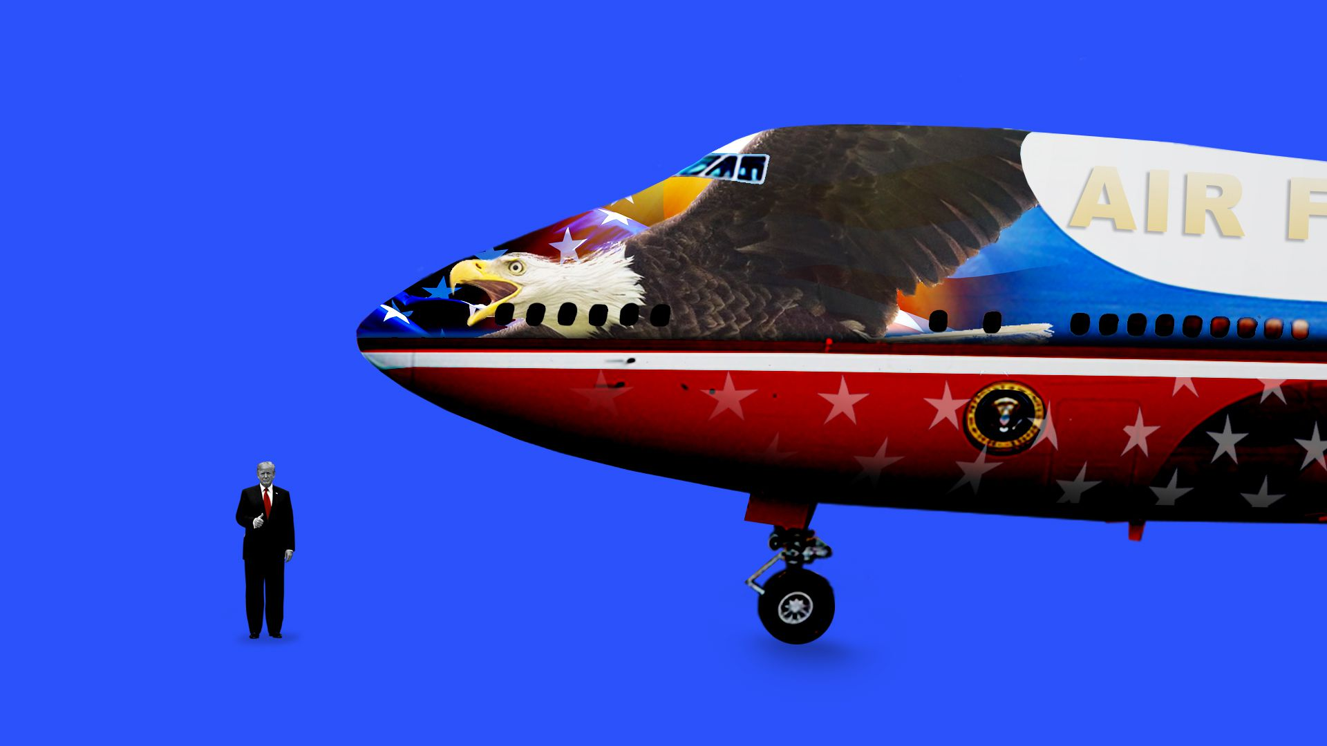 4dd3e1df005a Donald Trump wants to get rid of Air Force One's legendary paint job ...