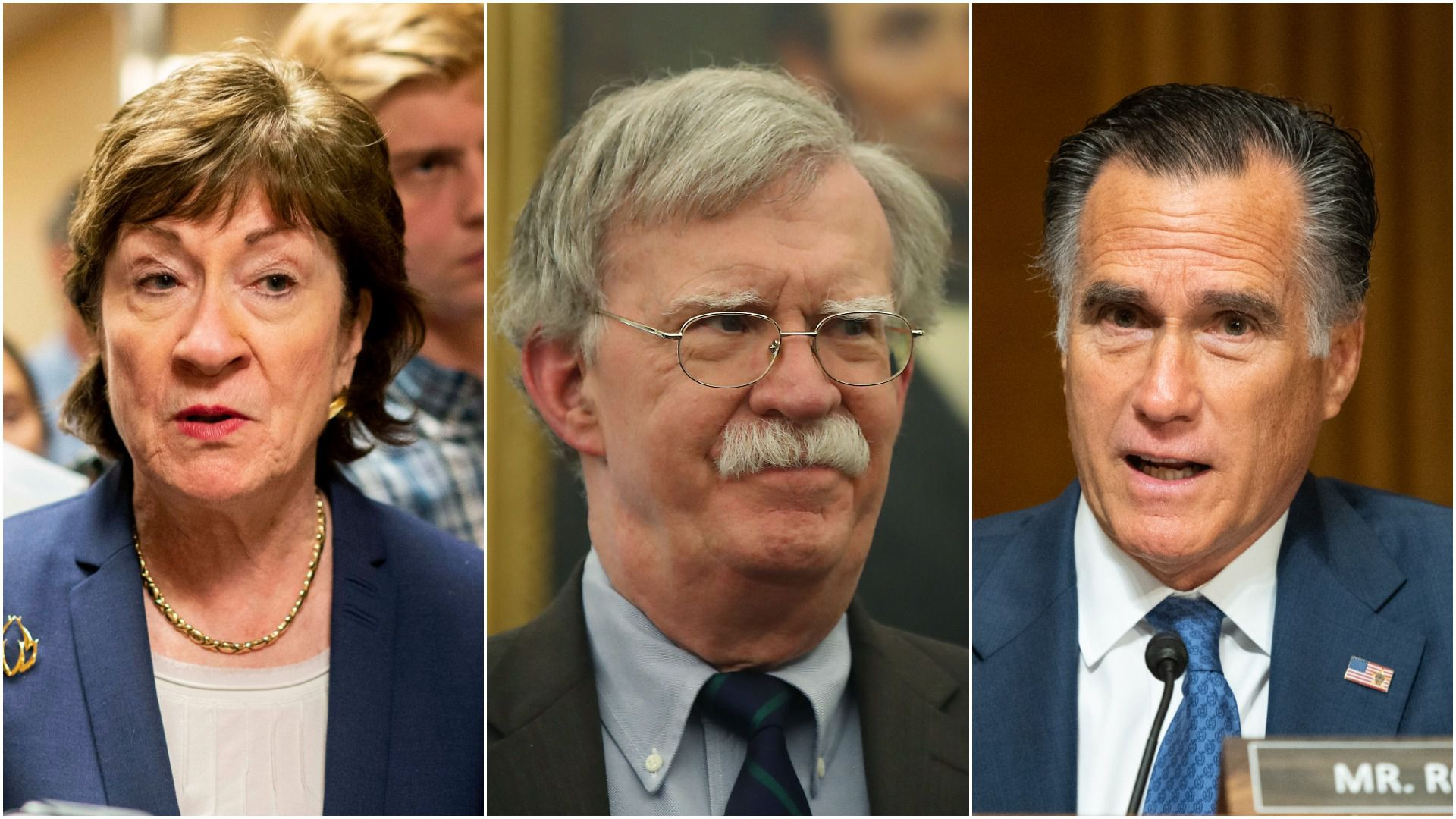 The GOP senators signaling support for witnesses following Bolton report