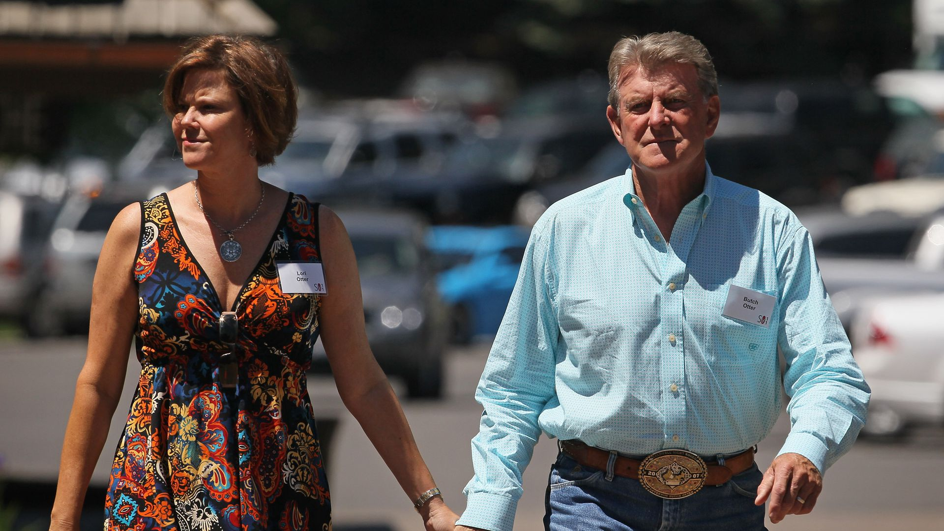 Idaho Gov. Butch Otter and his wife, Lori