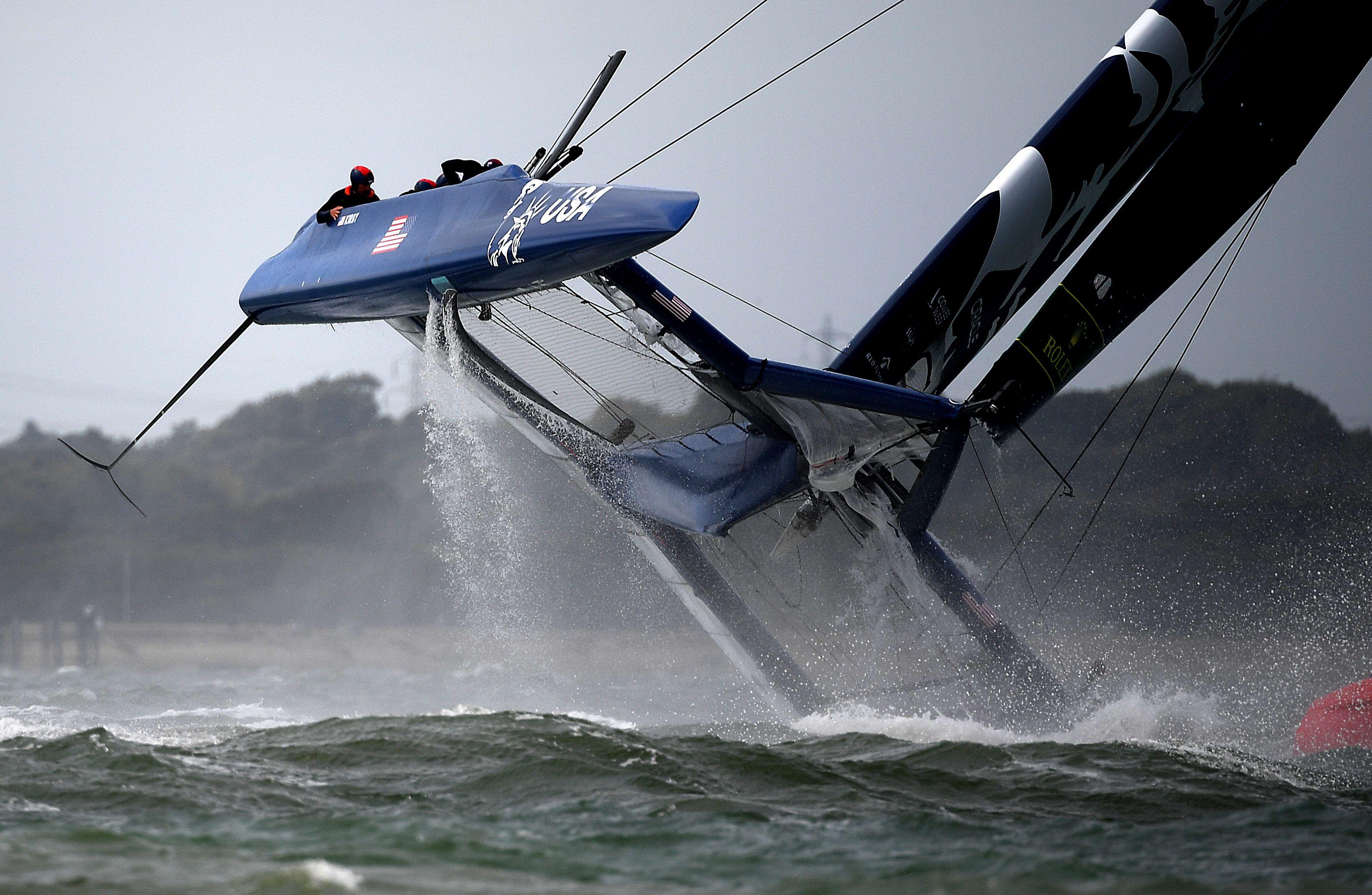 USA SailGP team