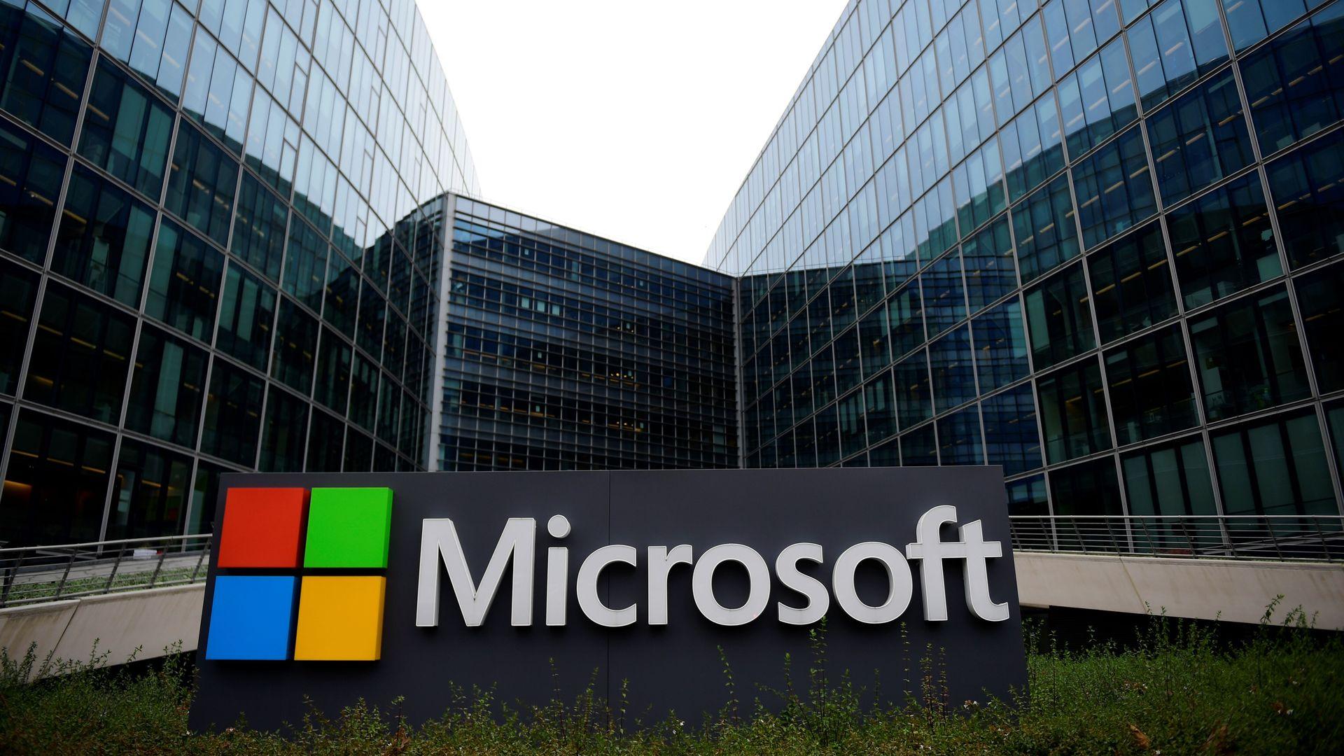 Microsoft headquarters in paris
