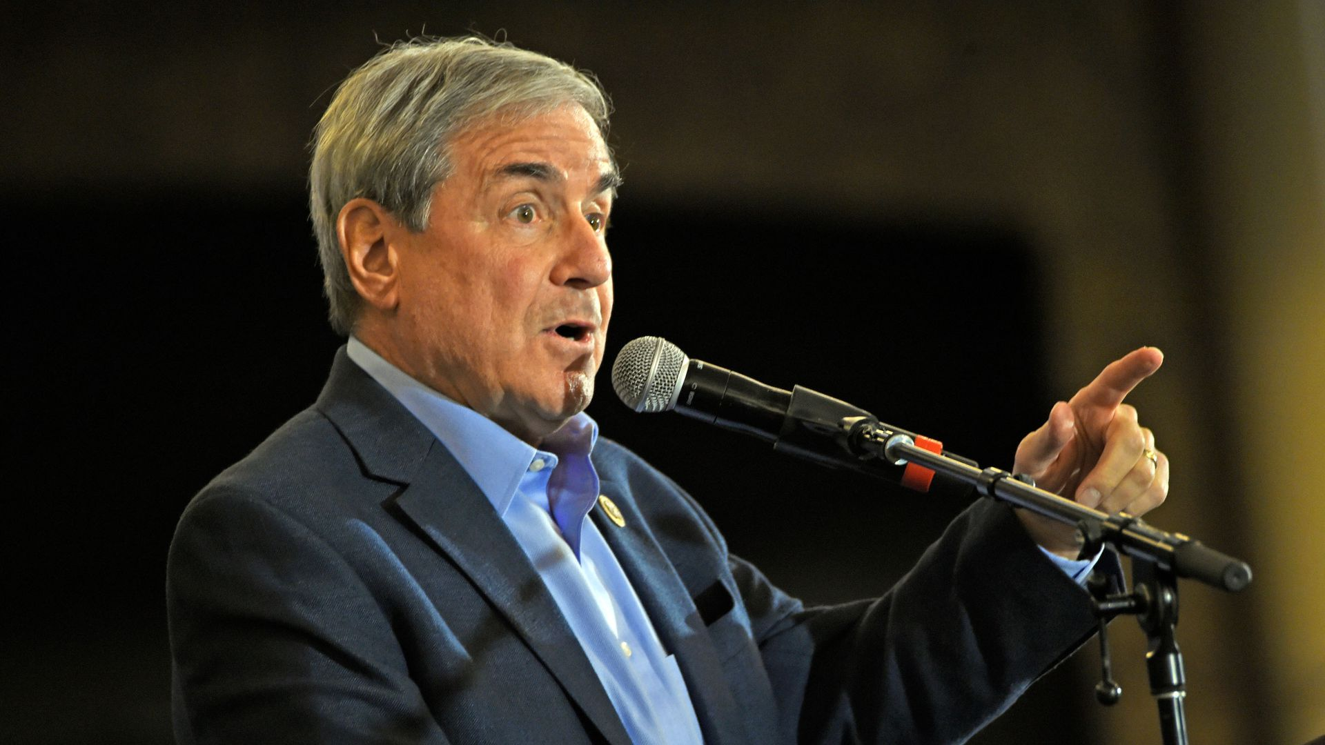 Rep. John Yarmuth speaks during the Protecting Working Families Tour at The Galt House Hotel on December 1, 2017 in Louisville, Kentucky.
