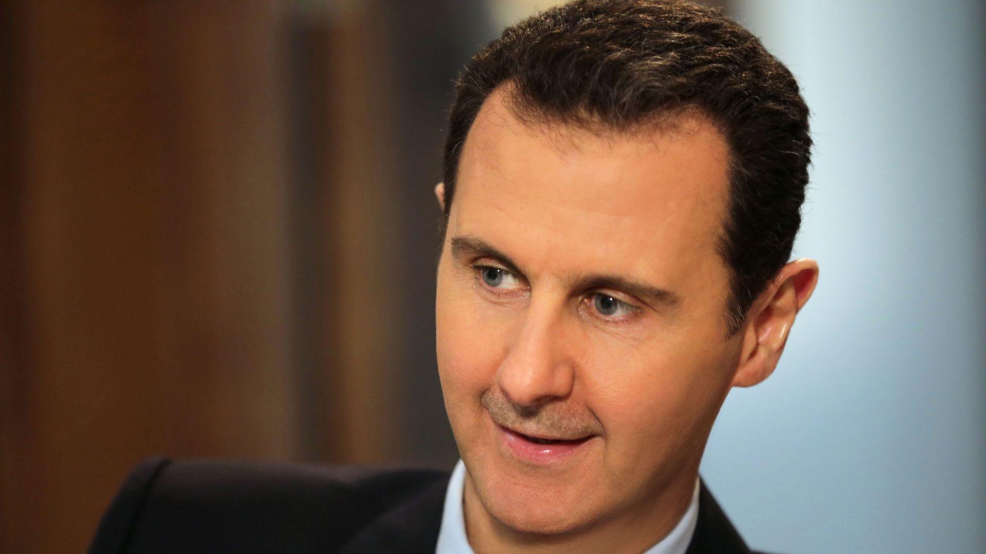 Syrian President Bashsar al-Assad.