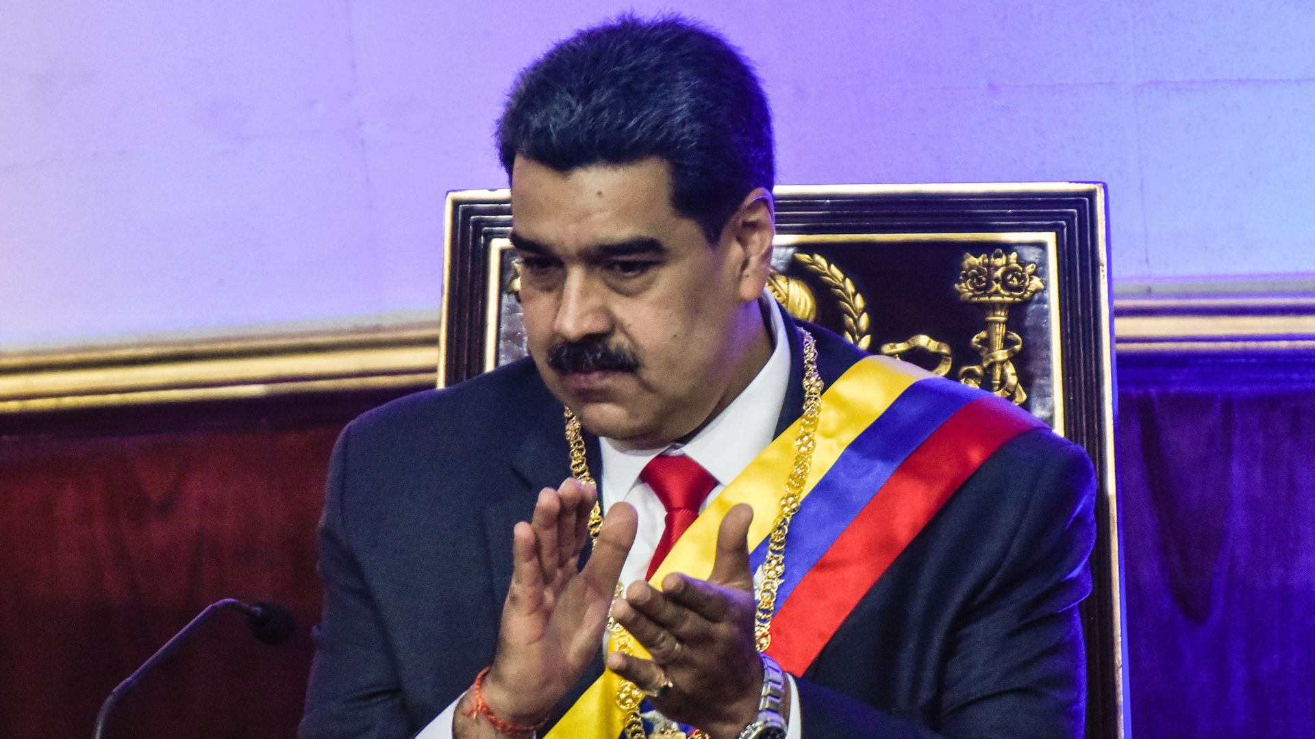 Venezuela's Maduro says he is firmly in control and won't be stopped by U.S. sanctions