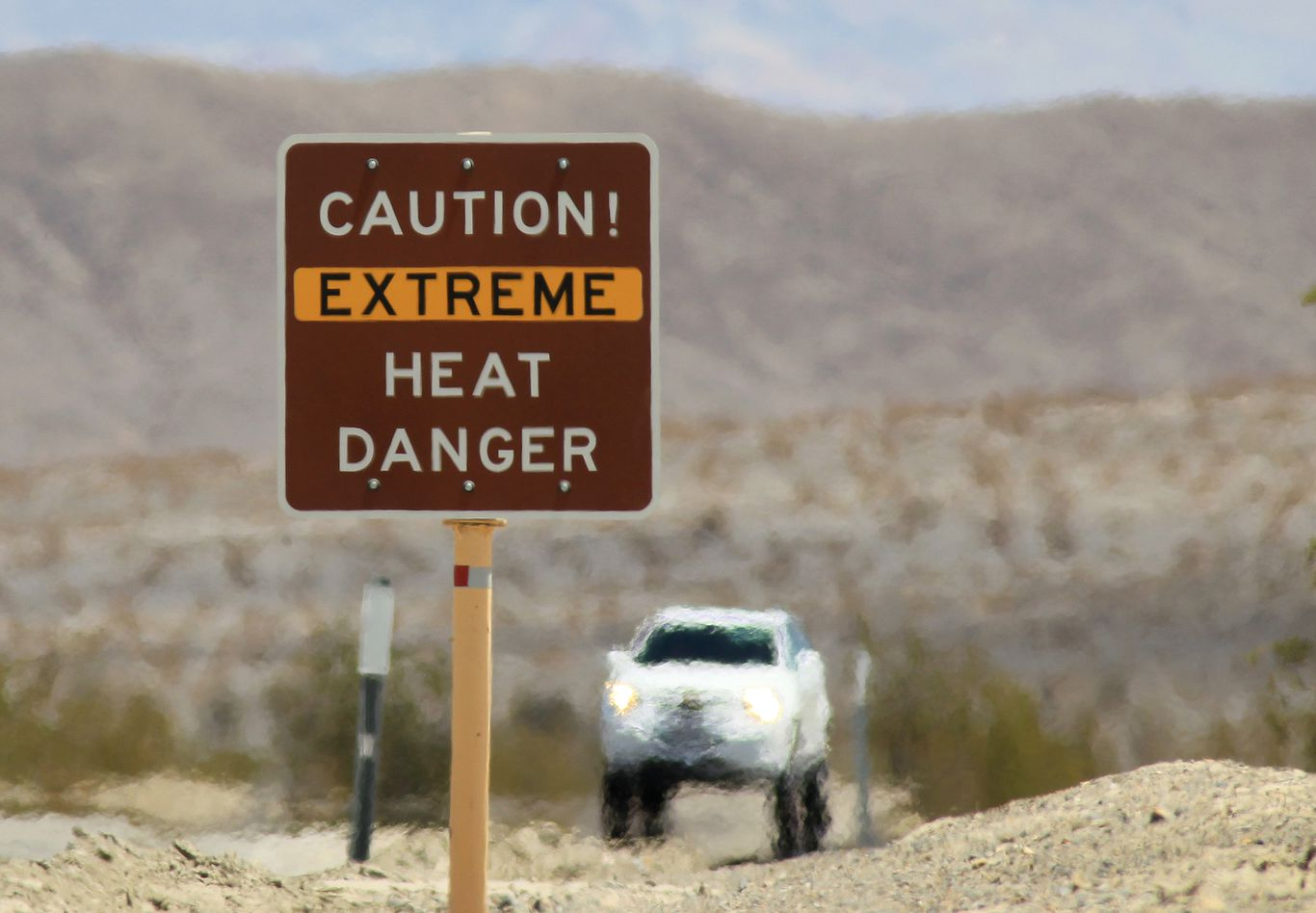 Death Valley hits 130 degrees as temperature records fall across California