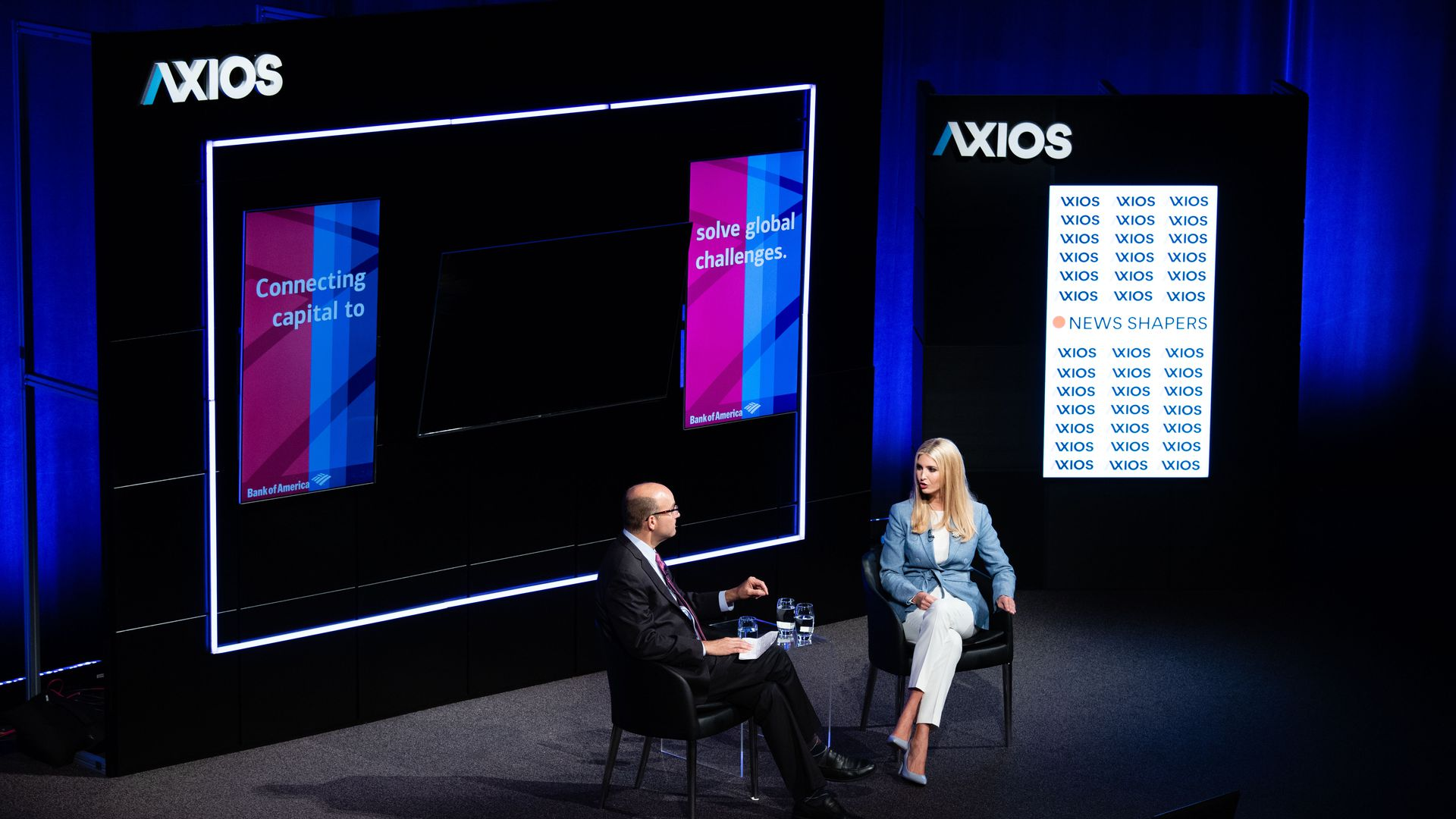 Axios' Mike Allen interviewing Ivanka Trump