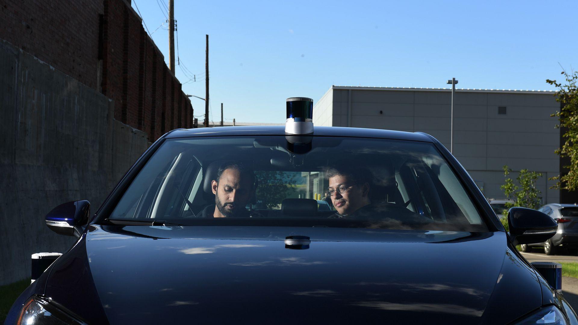 Axios Autonomous Vehicles