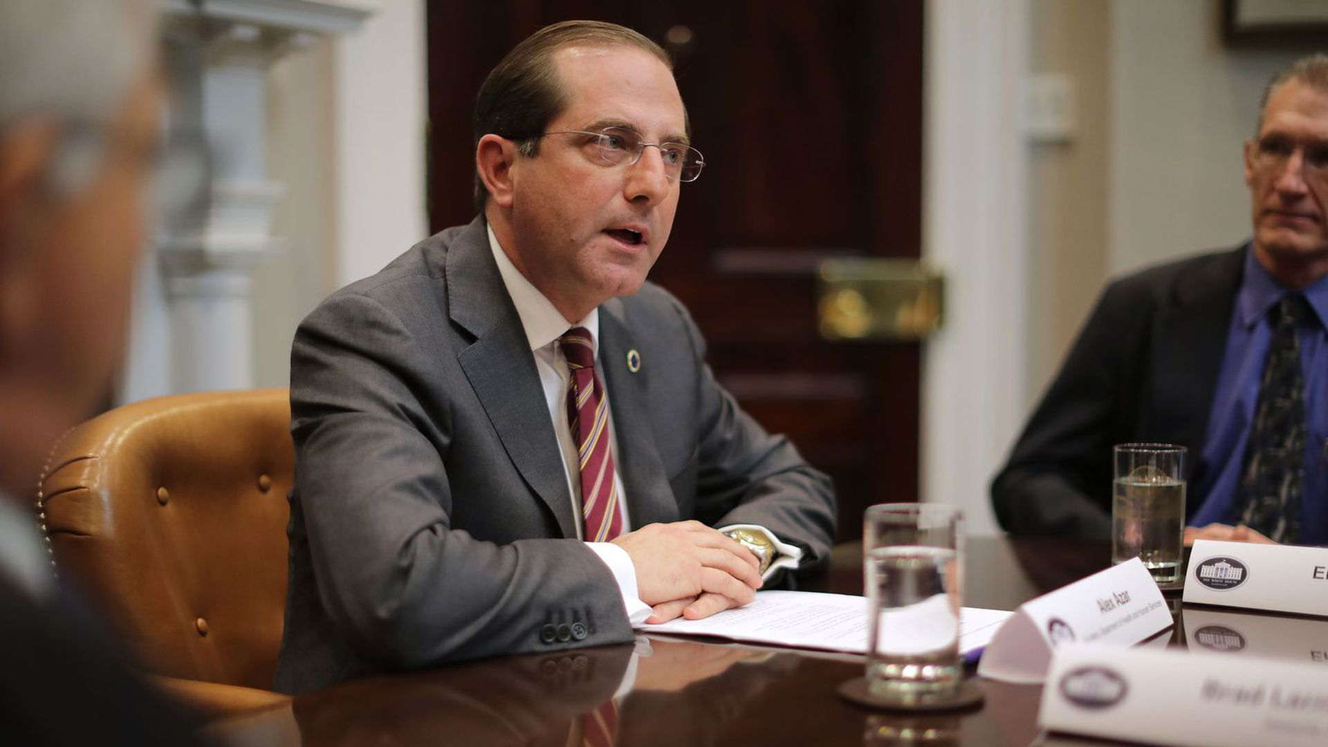 Health and Human Services Secretary Alex Azar.