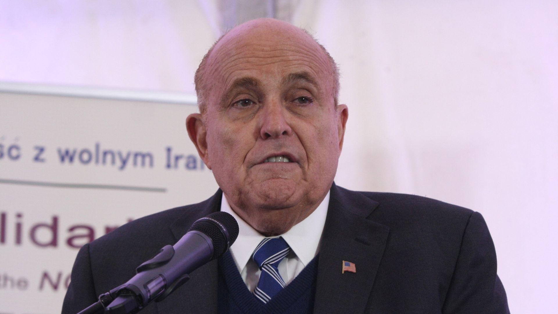 Inside Rudy Giuliani's cable news vanishing act