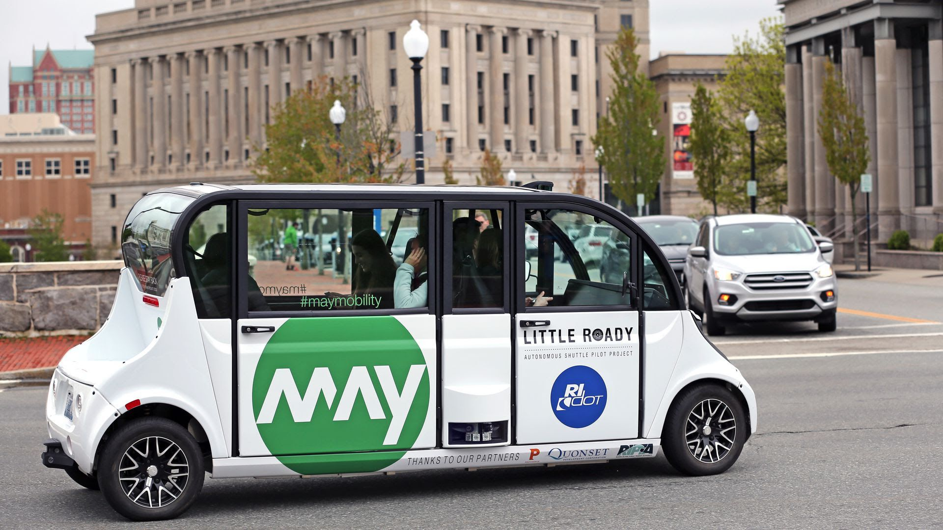 Self-driving shuttle company May Mobility gets a $50 million lift from Toyota
