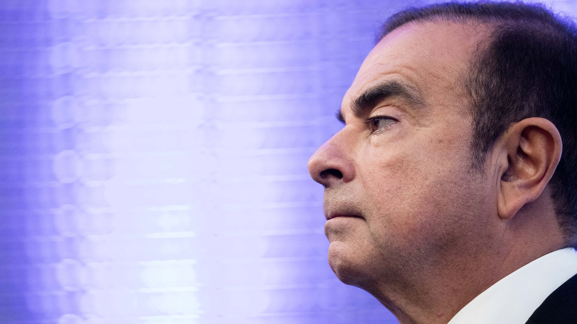 Carlos Ghosn. Nissan chairman.