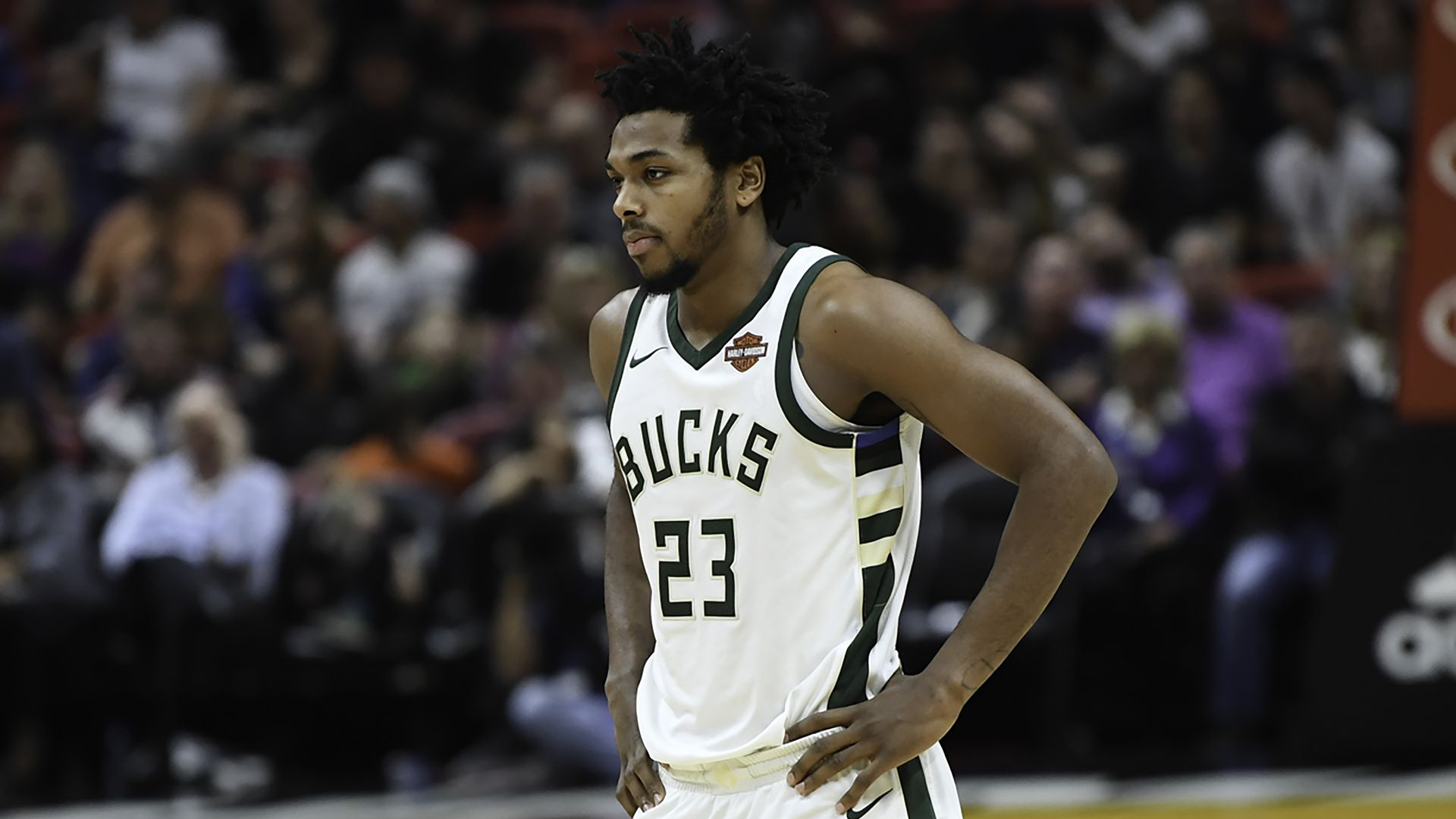 Milwaukee Bucks rookie Sterling Brown