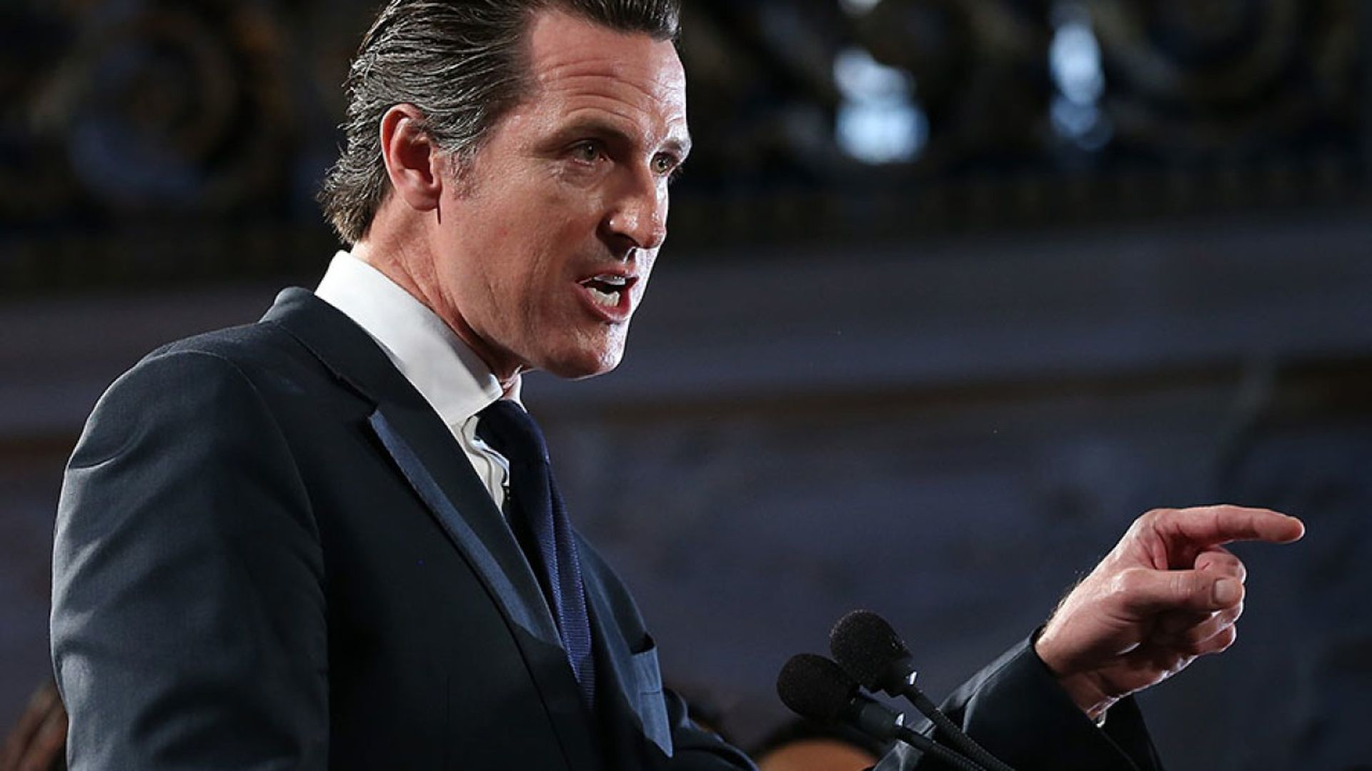 Gov. Gavin Newsom says his trip to El Salvador is designed to counter President Trump.
