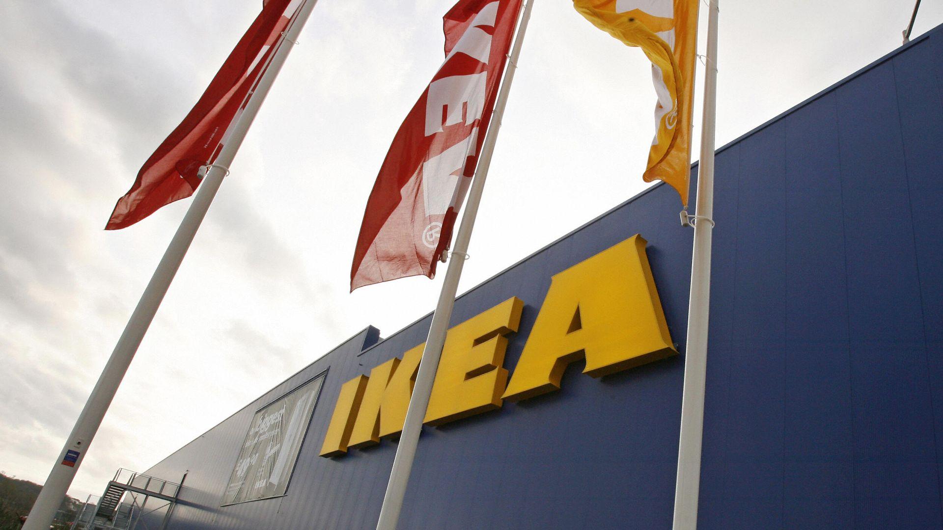 An Ikea logo