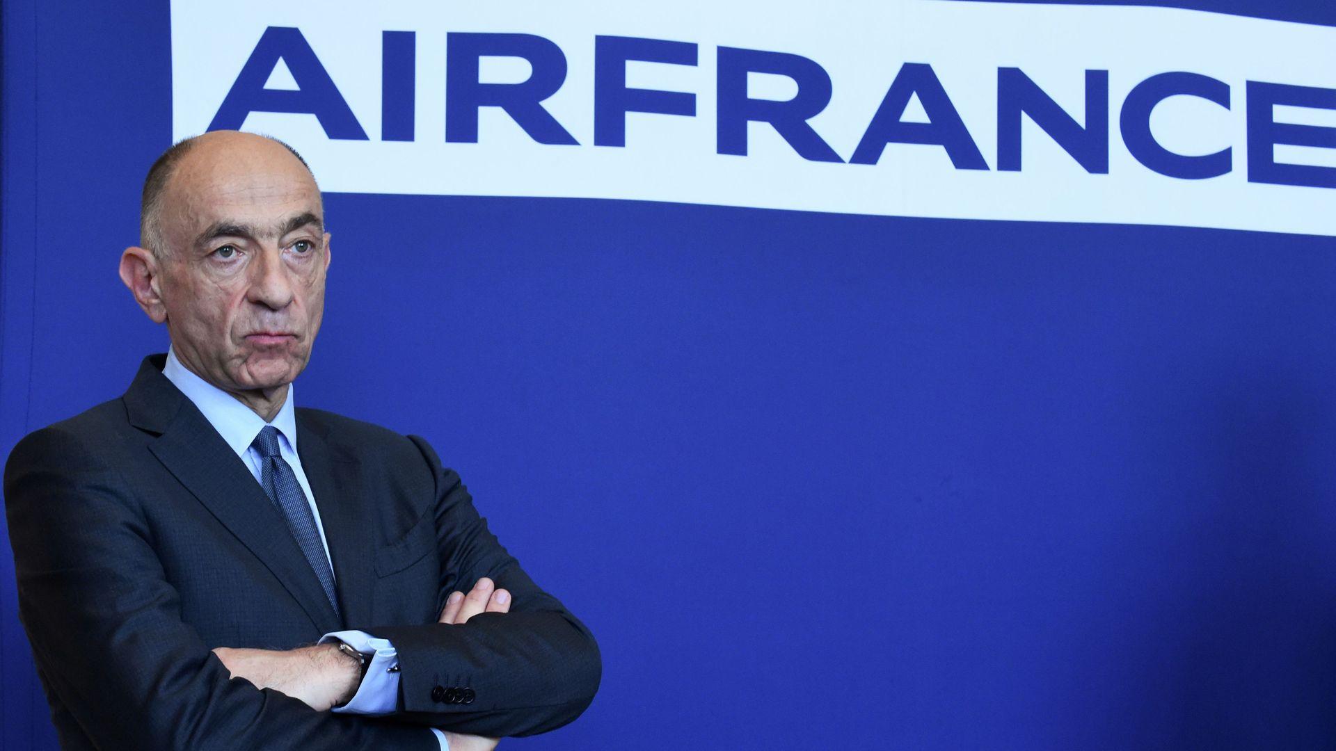 Air France CEO Jean-Marc Janaillac