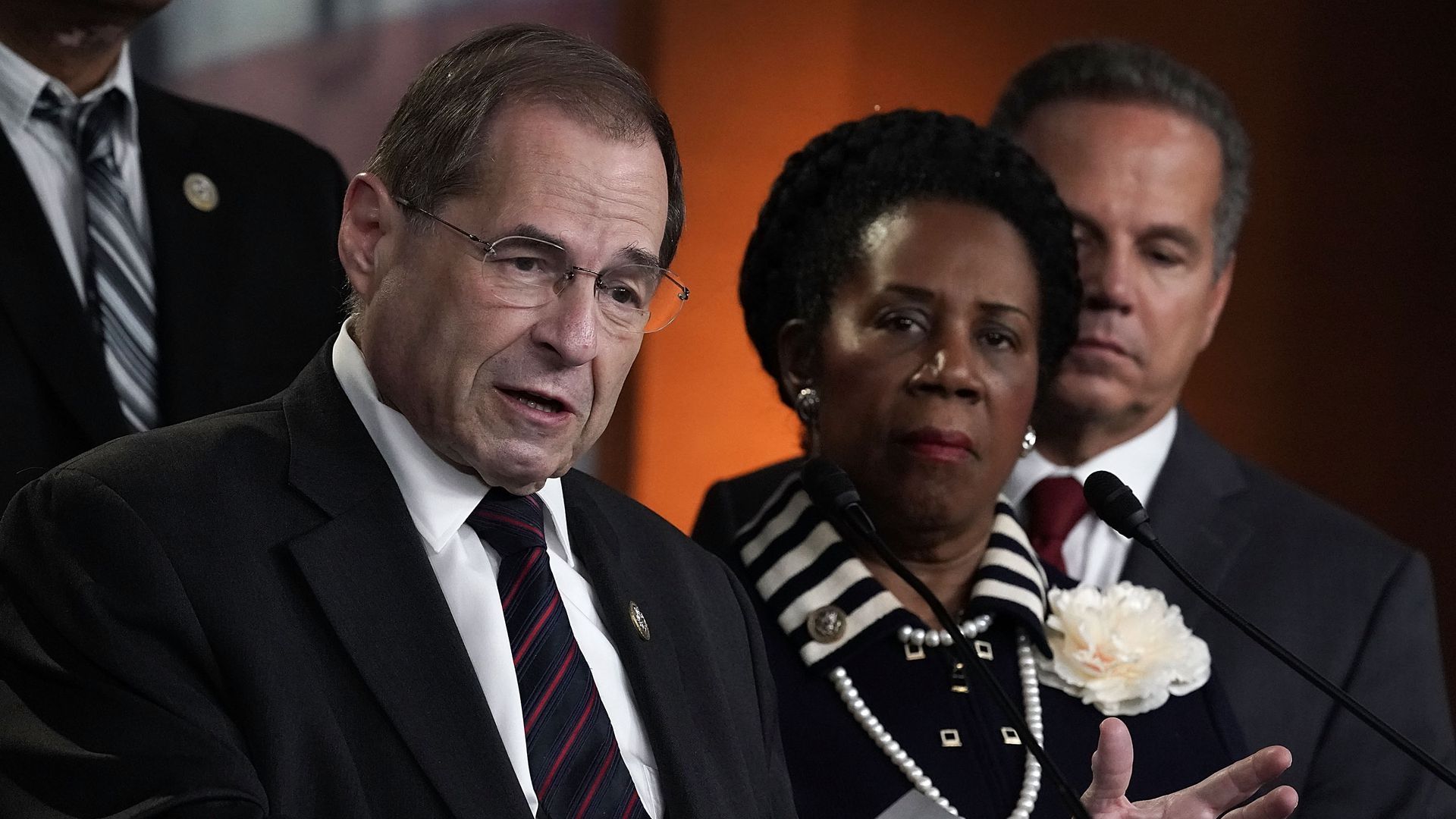 Jerrold Nadler and Sheila Jackson Lee