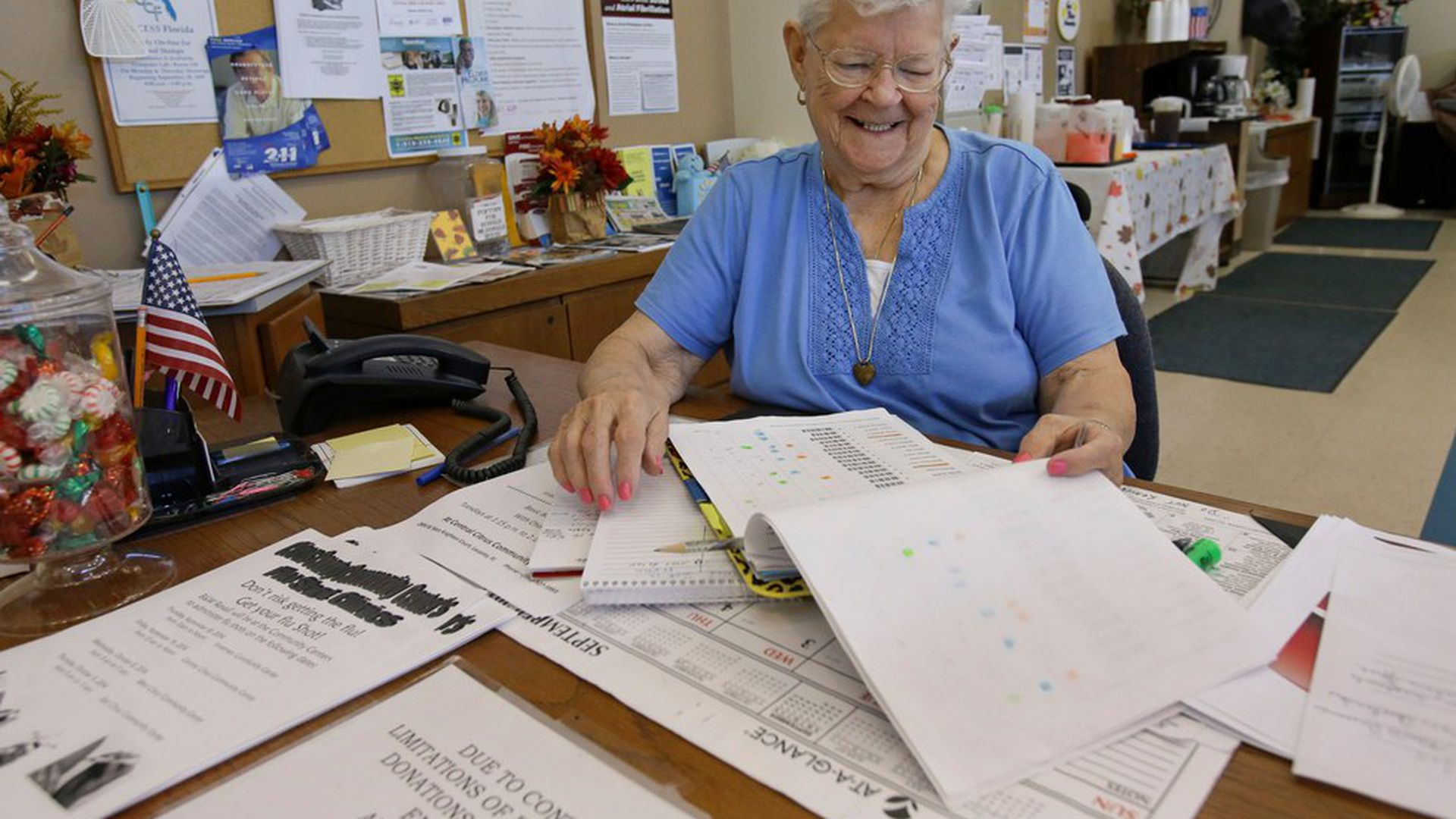 Senior citizens working in record numbers