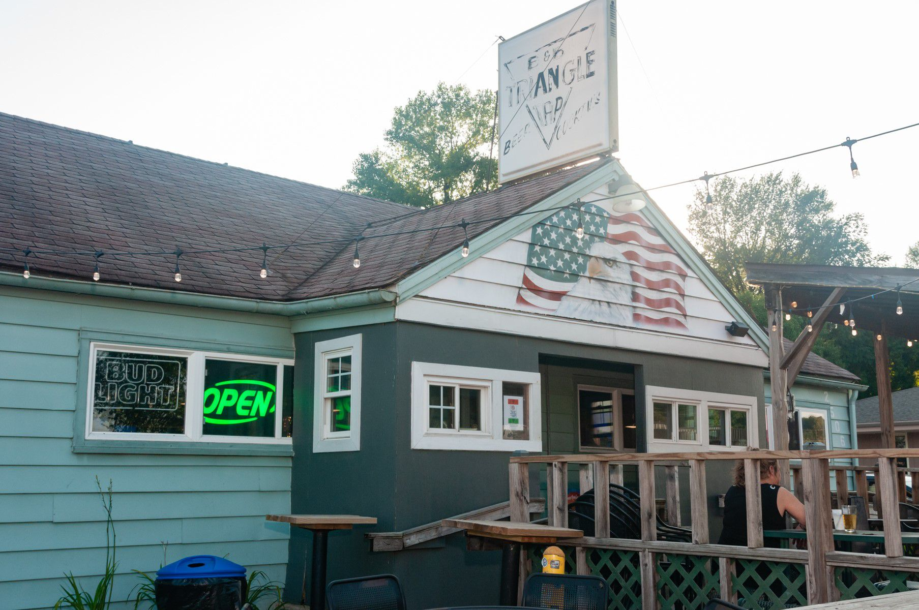 The Triangle Tap storefront.