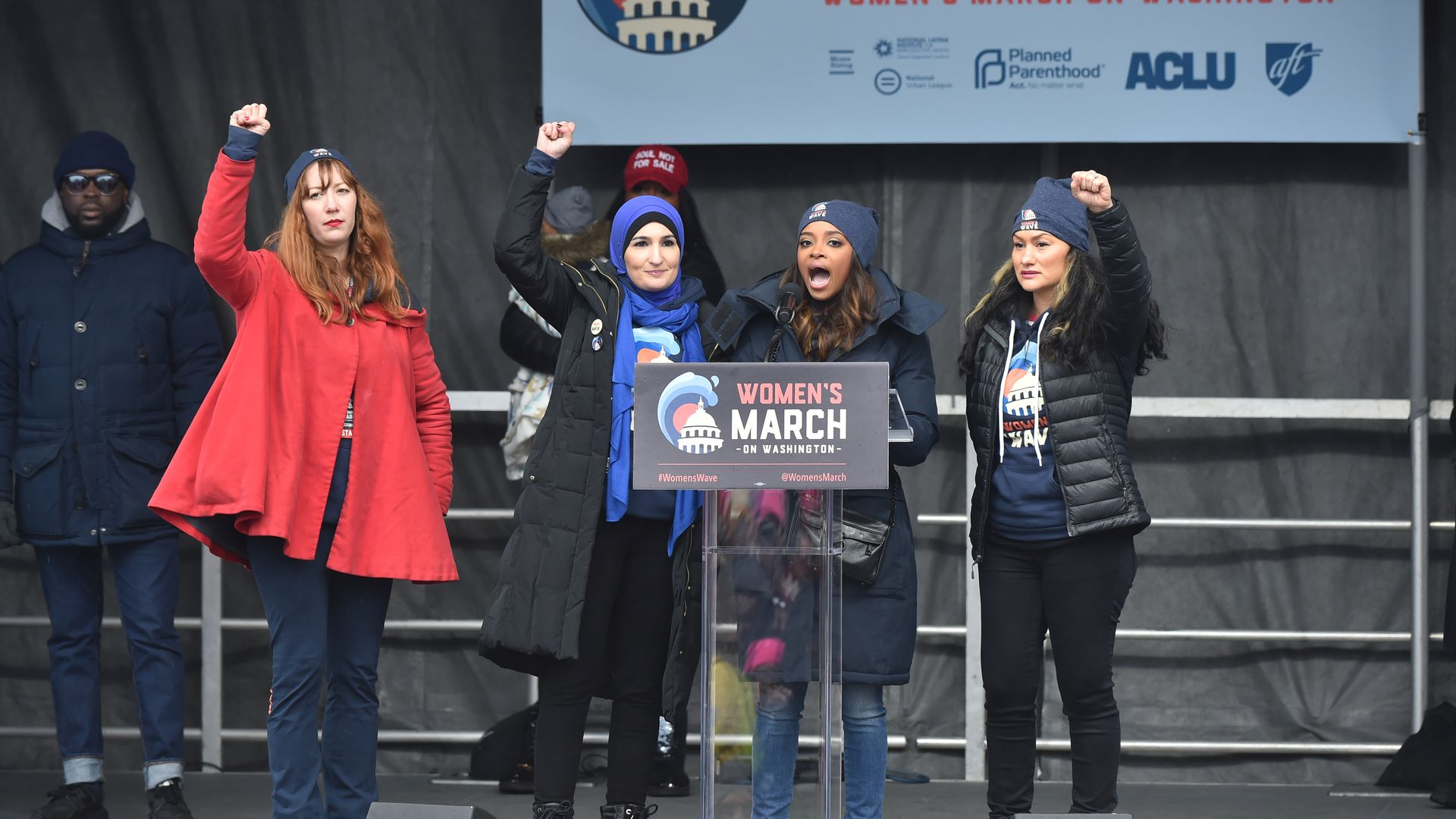 Women's March co-chairs