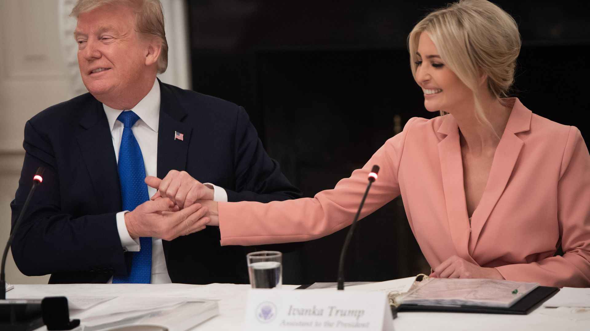 Ivanka Trump confirms Trump asked if she'd be interested in World Bank job