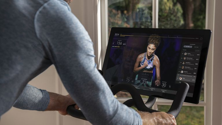 Peloton, best known for its stationary exercise bike, files