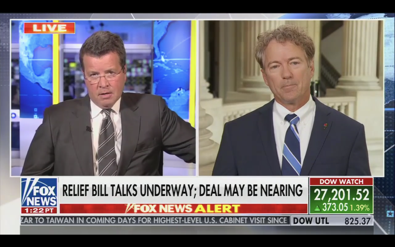 RAND PAUL: Republicans should apologize to Obama for complaining about spending! thumbnail