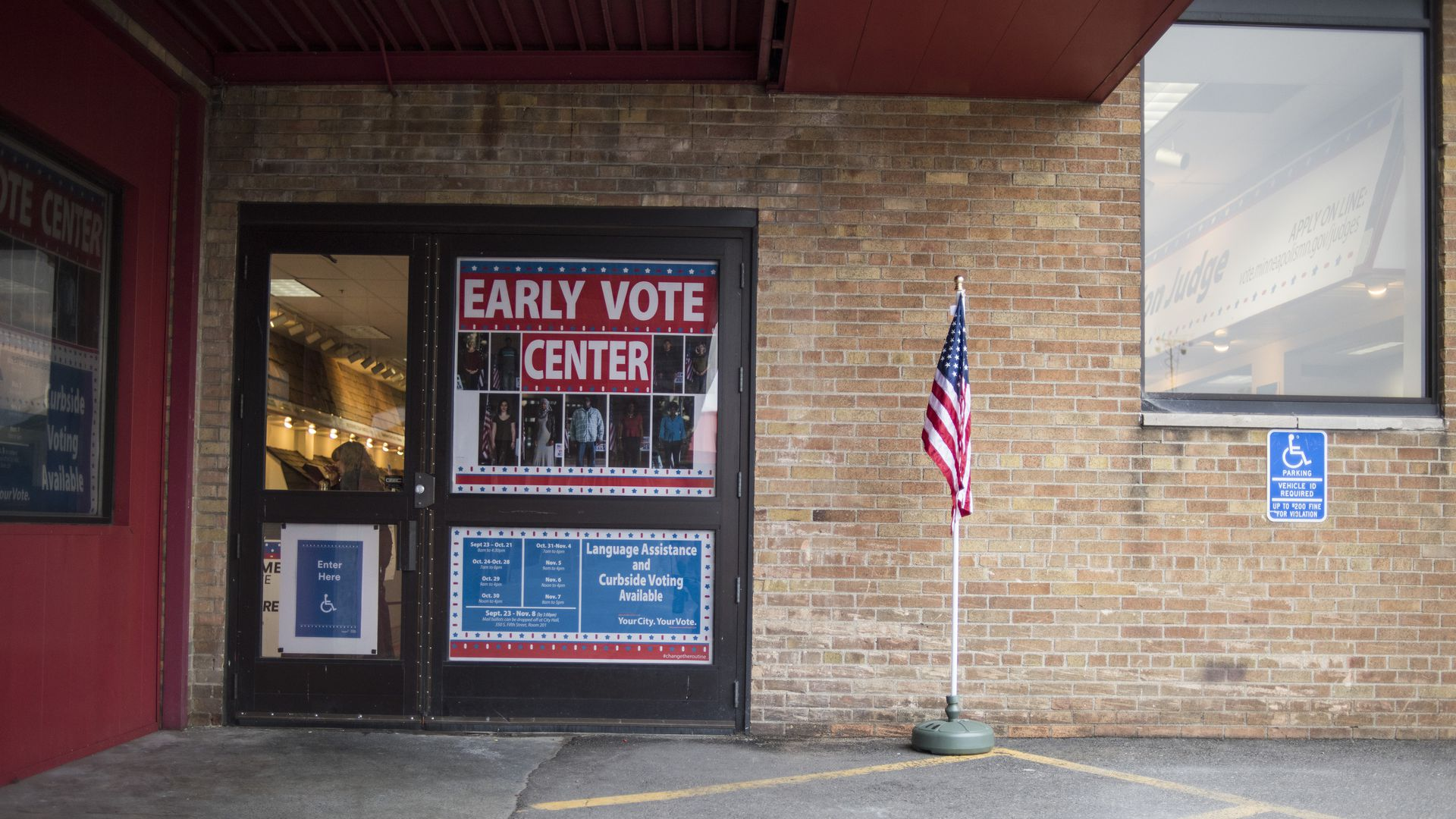 early vote center