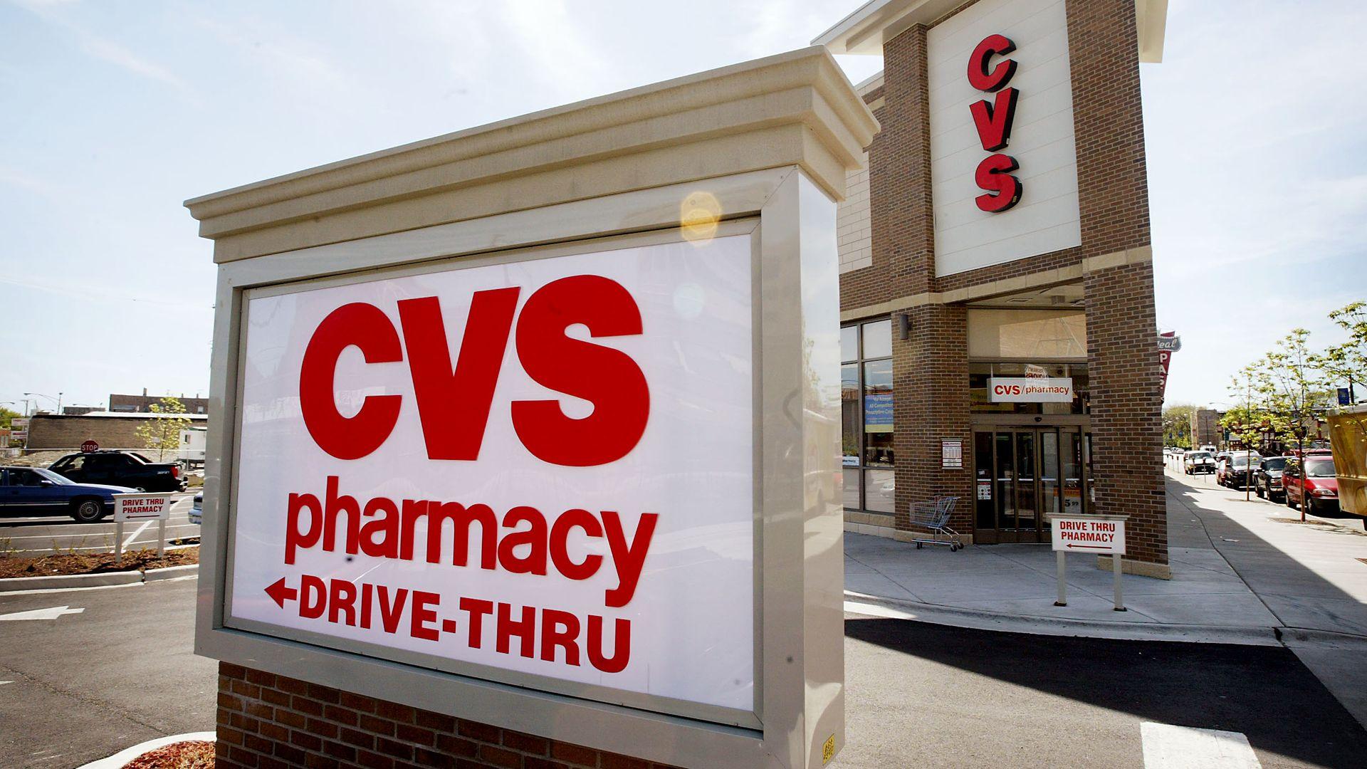 A CVS Pharmacy sign