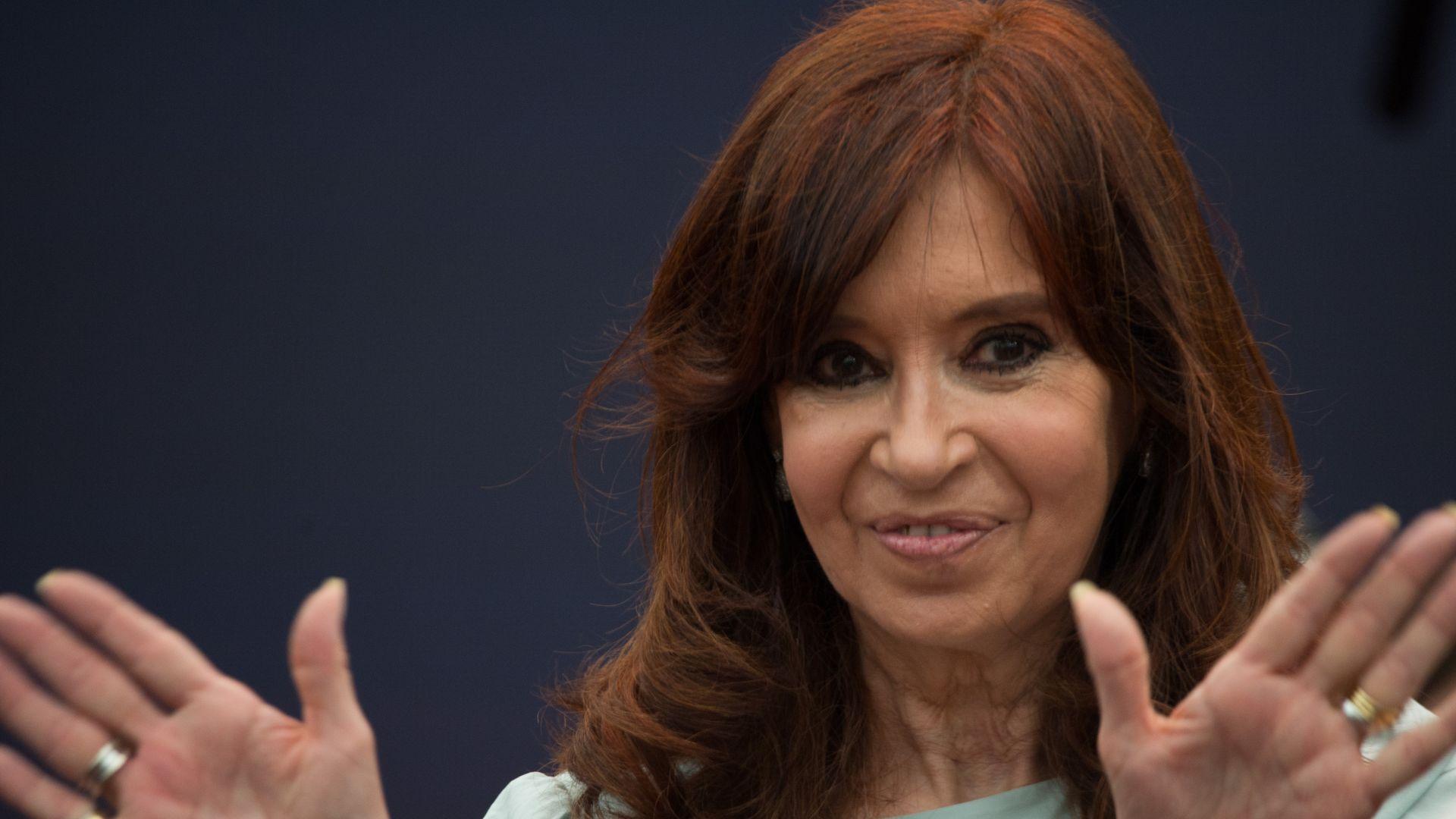 Argentina's former President Cristina Fernandez de Kirchner